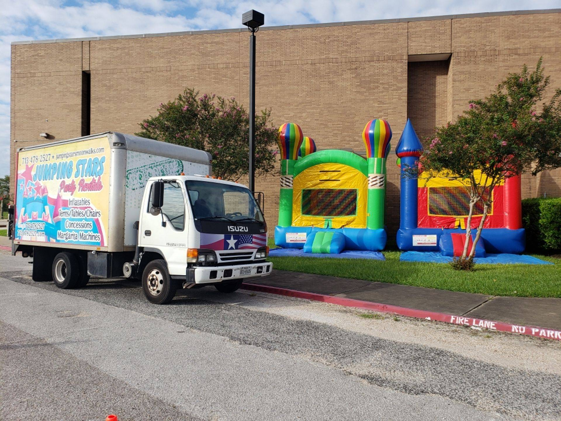 Jumping Stars Party Rentals