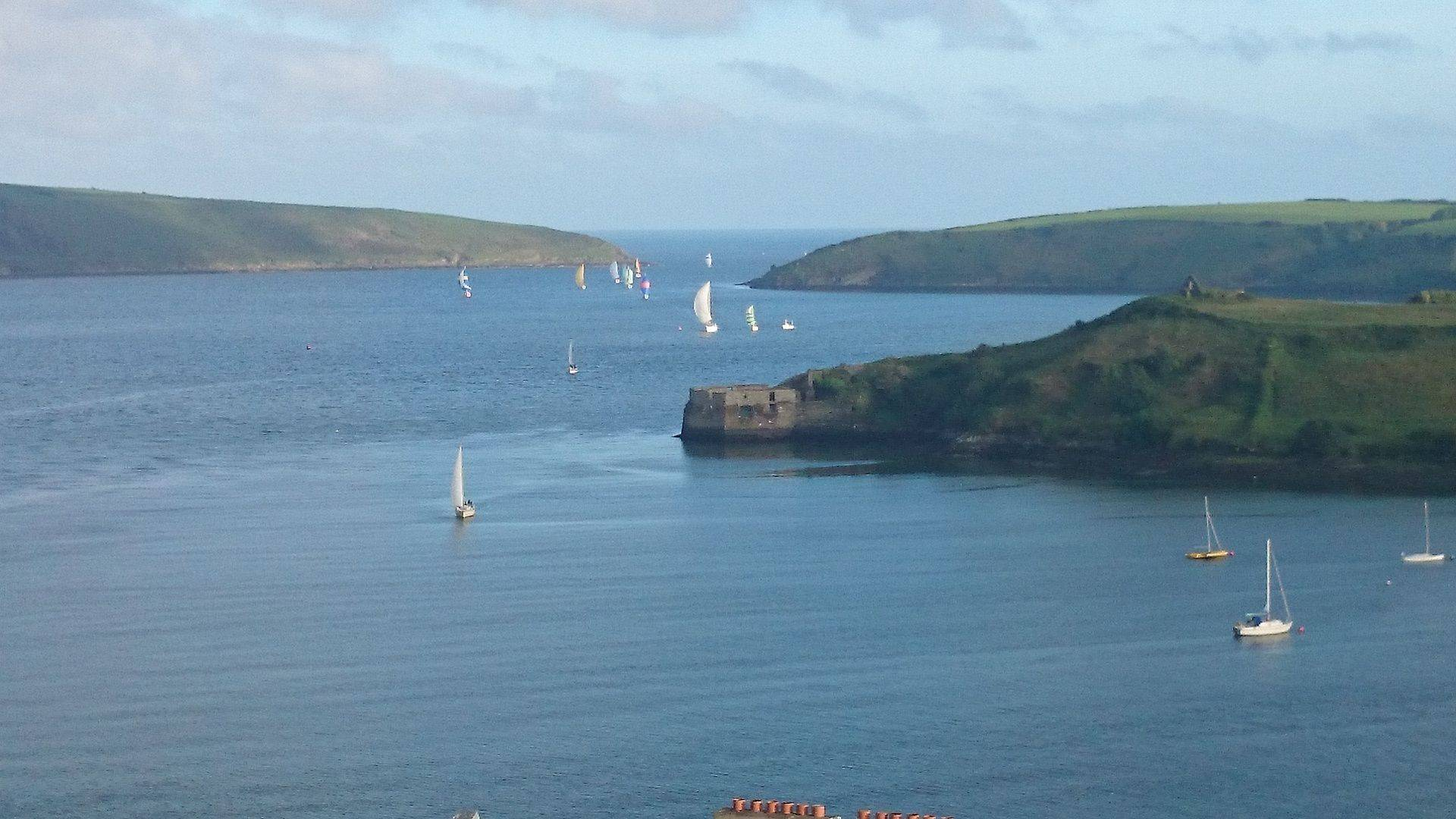 View from Charles Fort in Kinsale