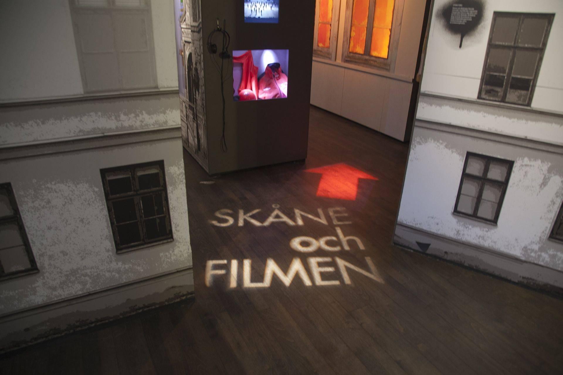 museum gobo projektion