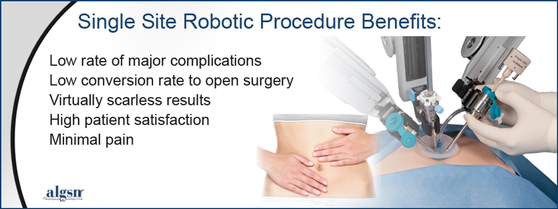 Less Invasive Robotic Surgery
