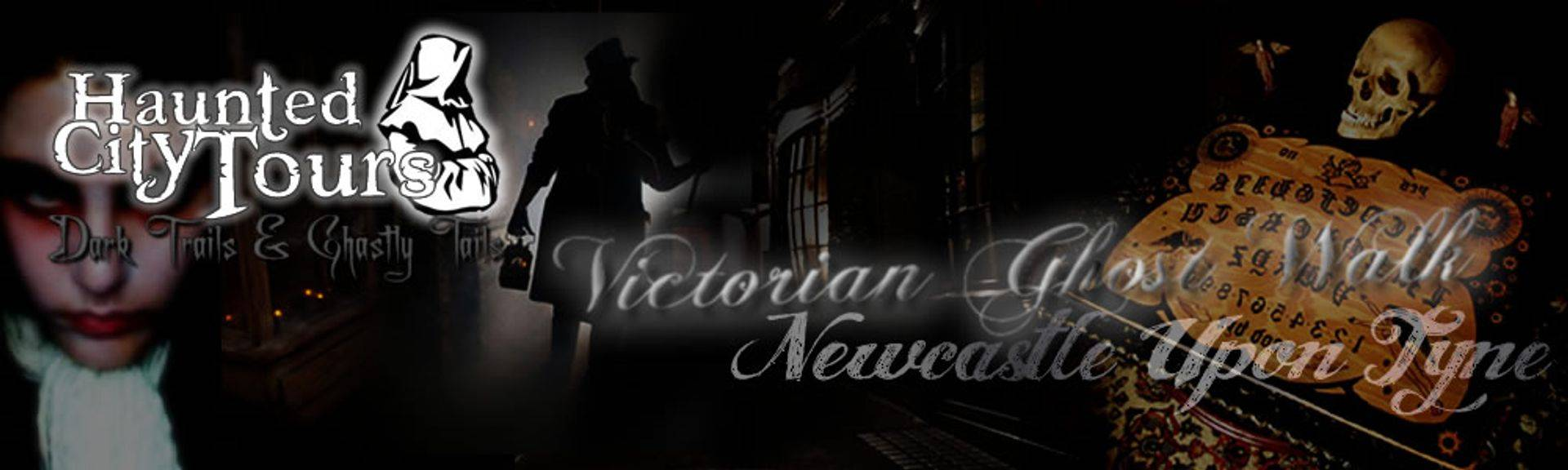 Victorian Ghost Walk of old Newcastle Upon Tyne led by a Victorian Necromancer