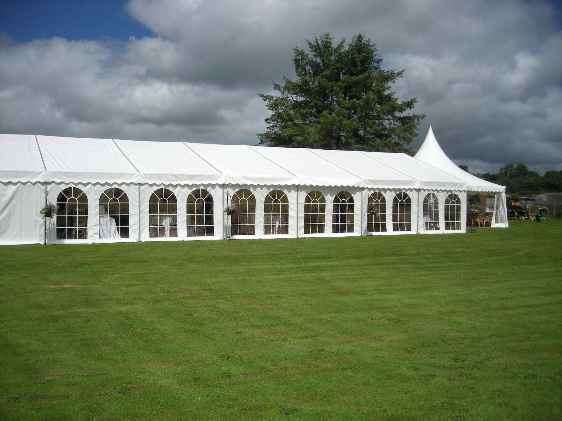 Long Wedding Marquee