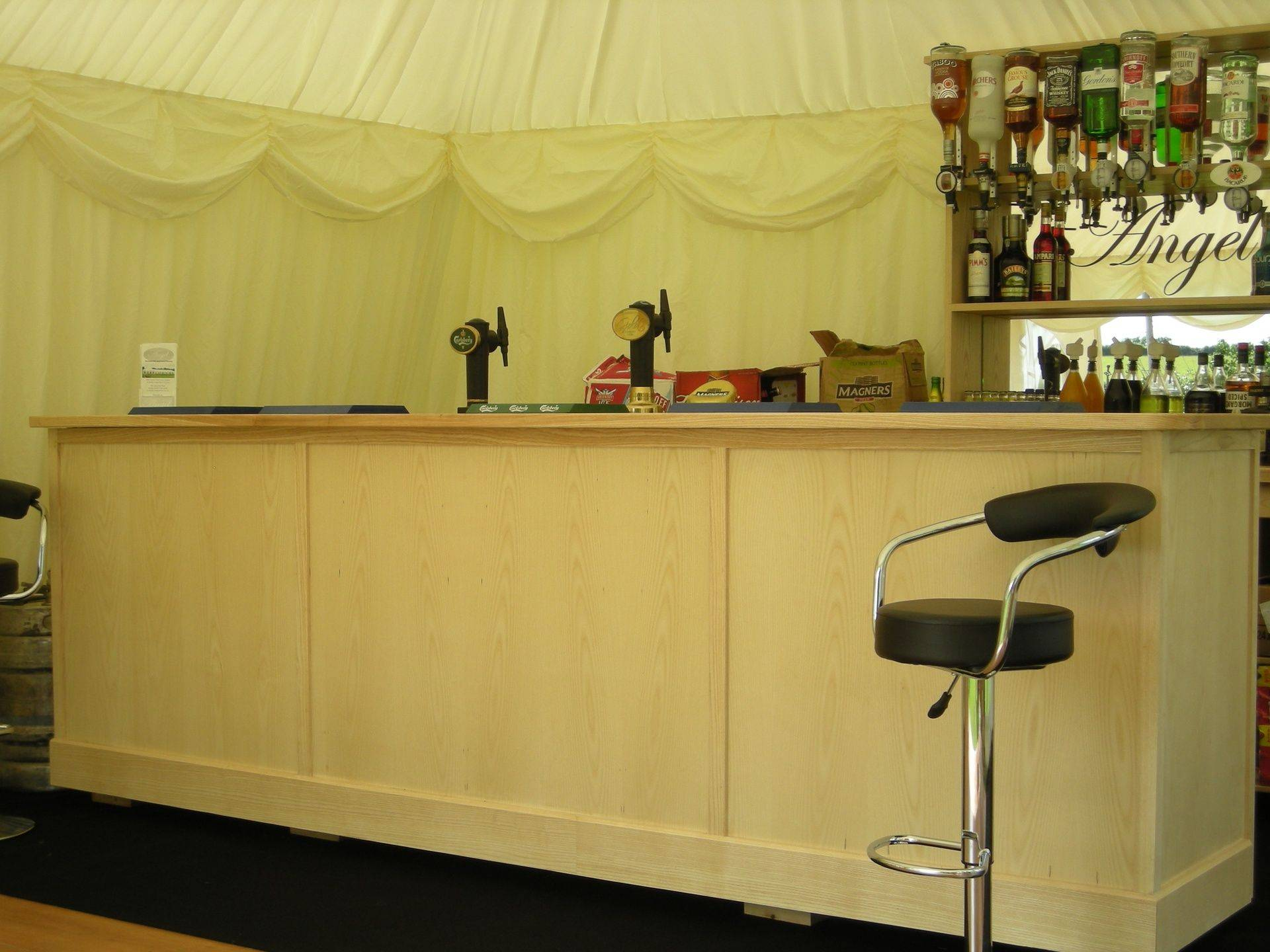 Main Staffed bar marquee