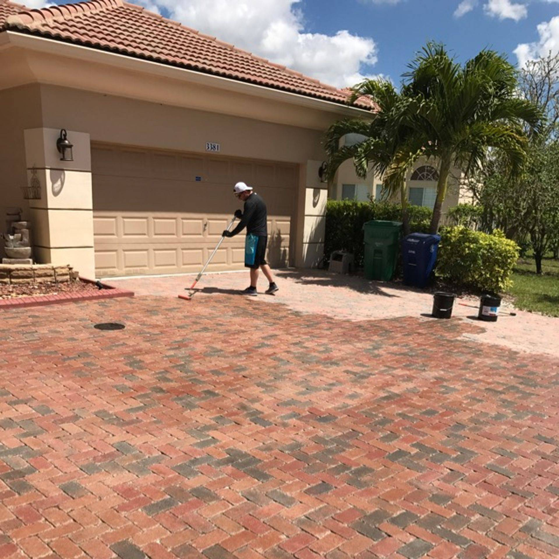 AR&D Inc. Driveway Sealing, Miramar FL.