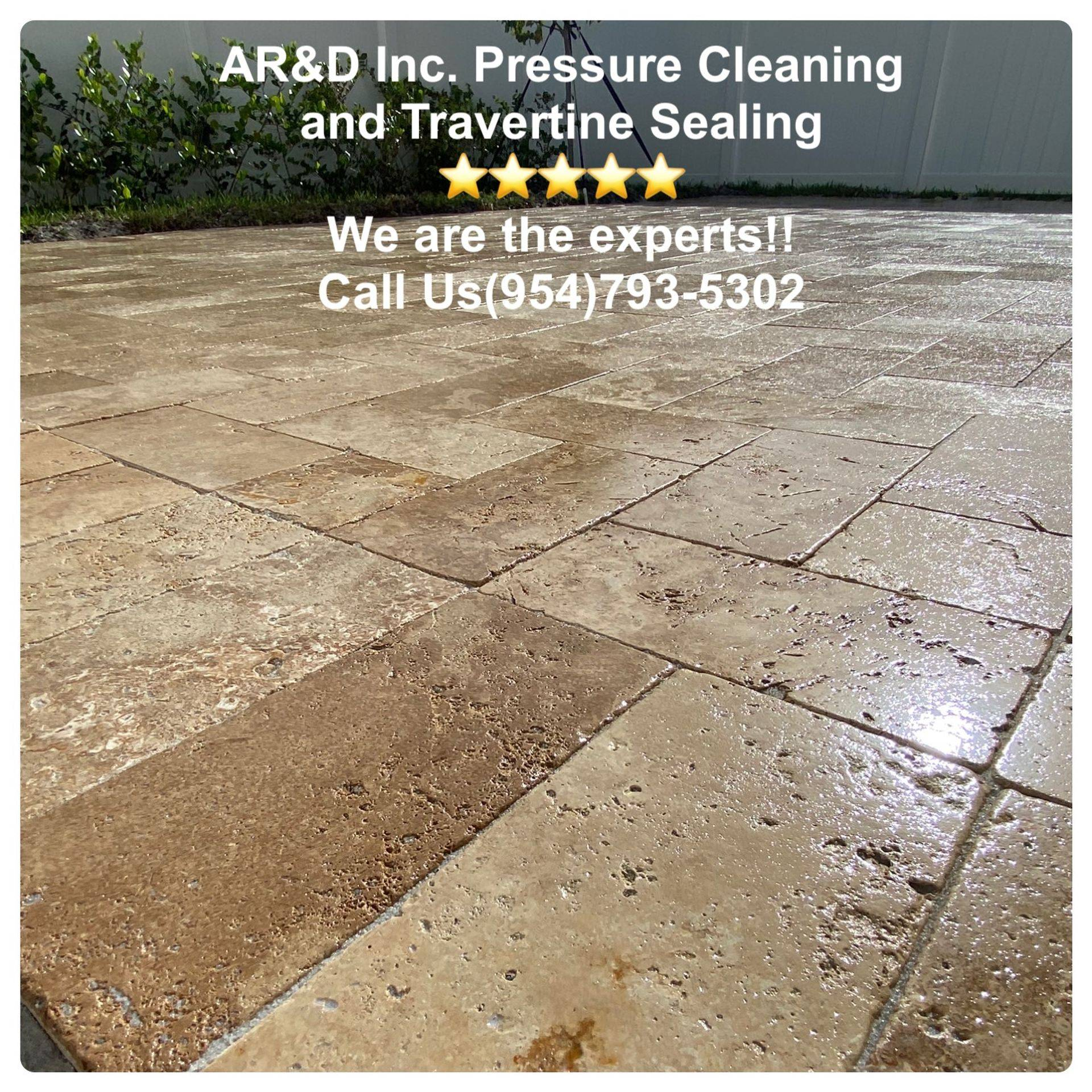AR&D Inc. non pressure roof cleaning