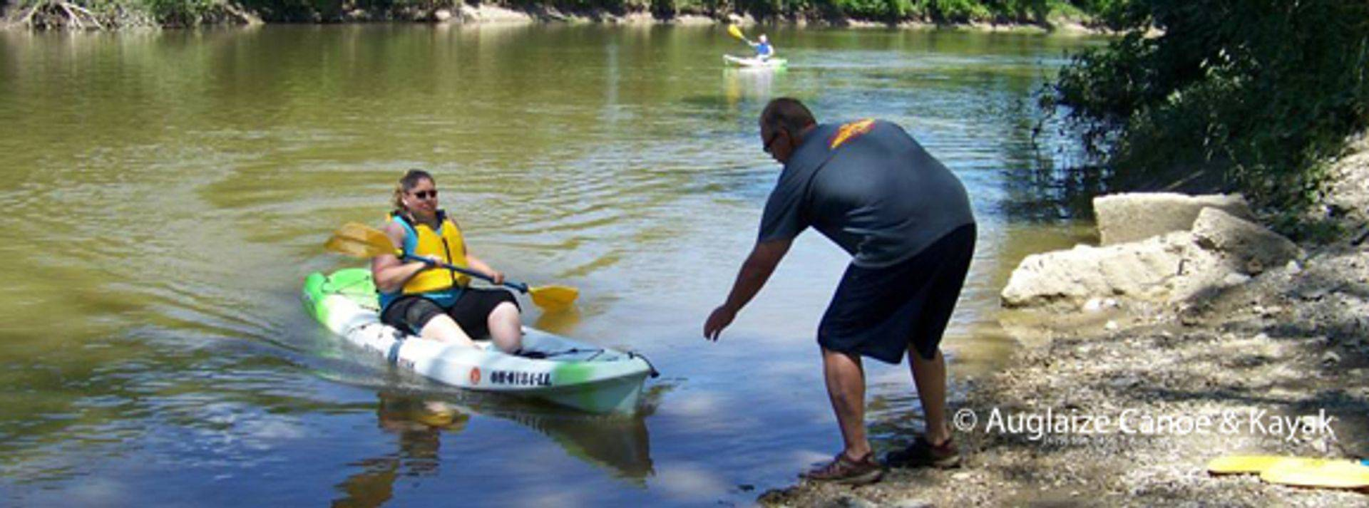 The Family is available to help you enjoy your paddling adventure.