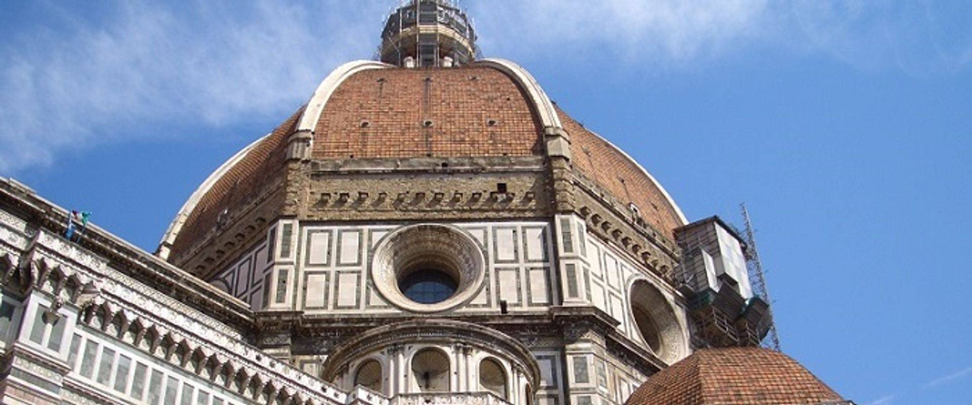 "<img src=""australian womens travel.jpg alt=womens tours, "">looking up at florences famous dome, italy"