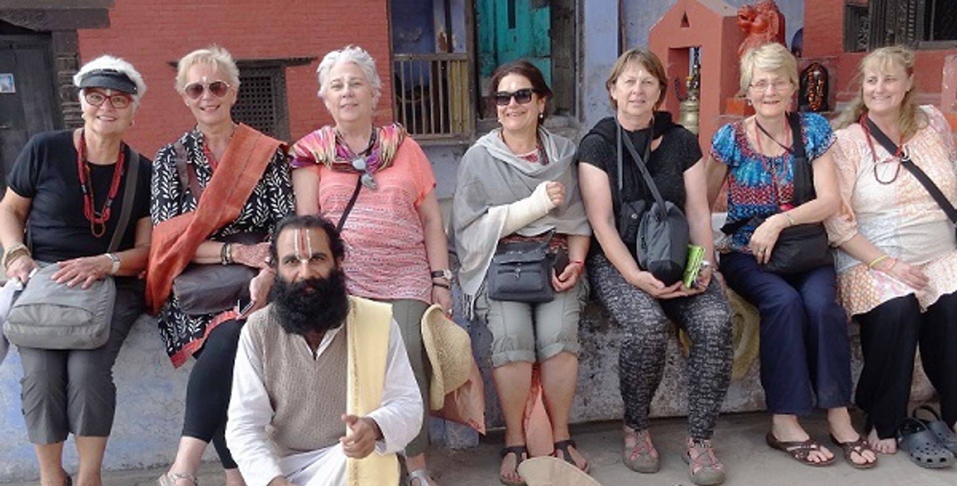 "<img src=""australian womens travel.jpg alt=womens tours, tour group with holyman in temple in varanasi, india"">"
