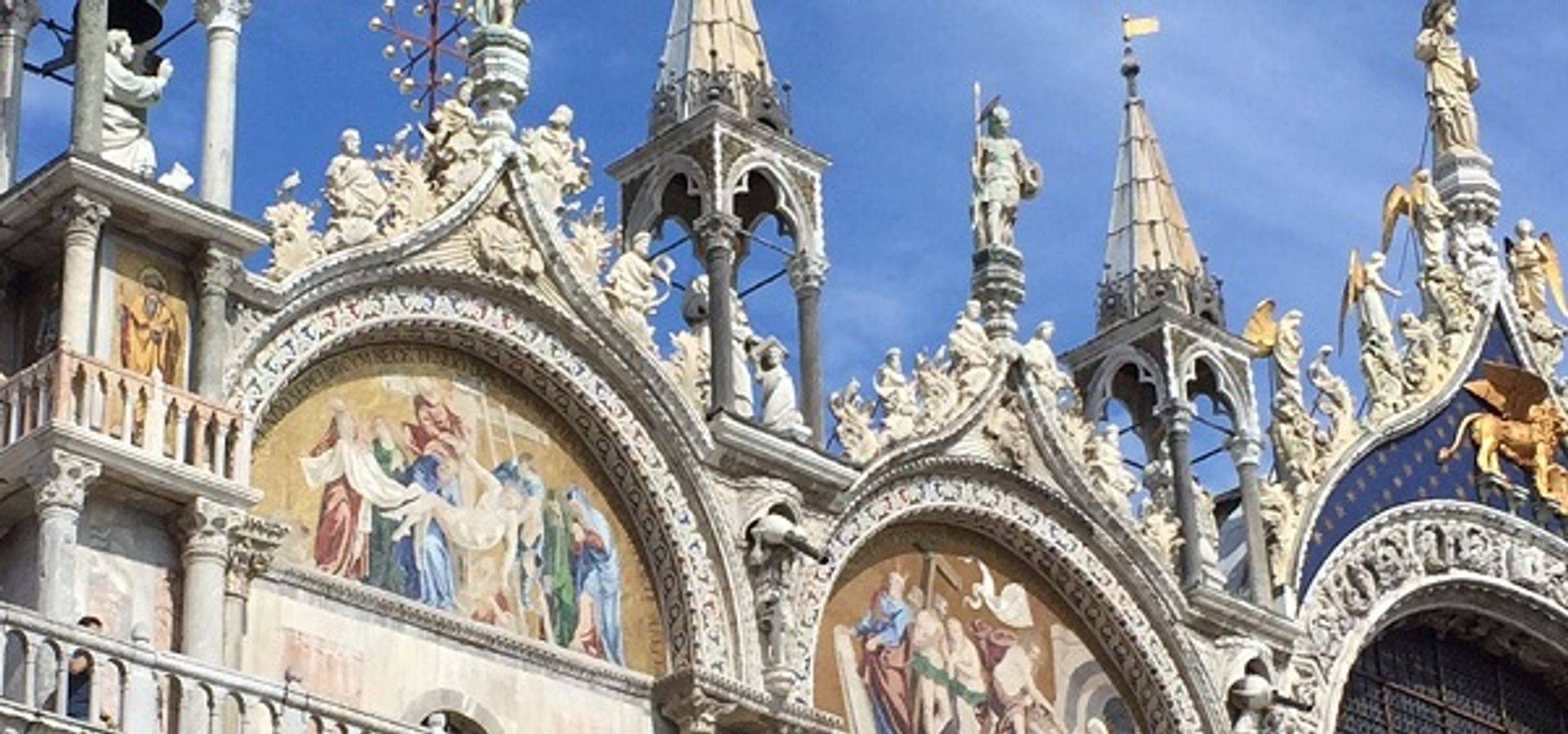 "<img src=""australian womens travel .jpg"" alt=""close up of the mosaics at the front of st marks basilica, venice "">"