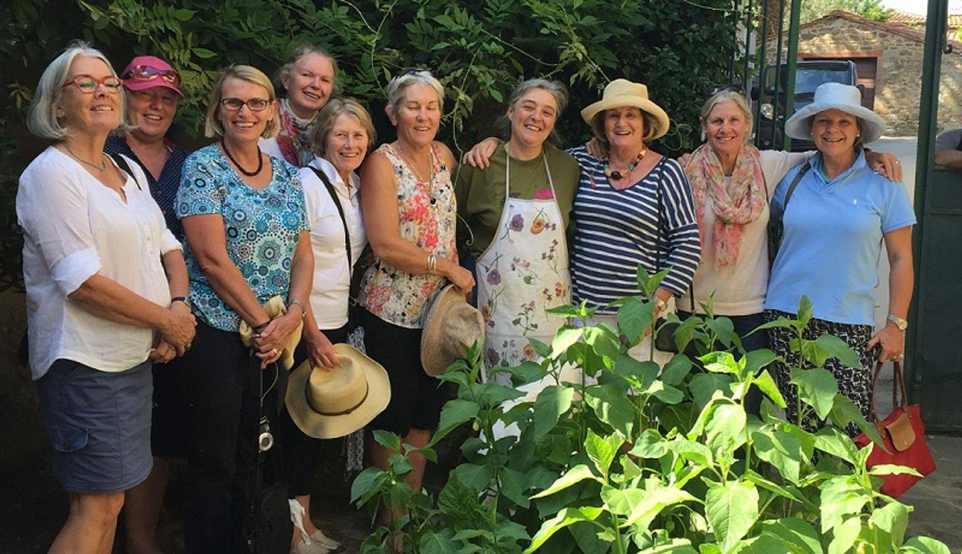 "<img src=""australian womens travel.jpg alt=womens tour group after lunch tuscany italy"">"