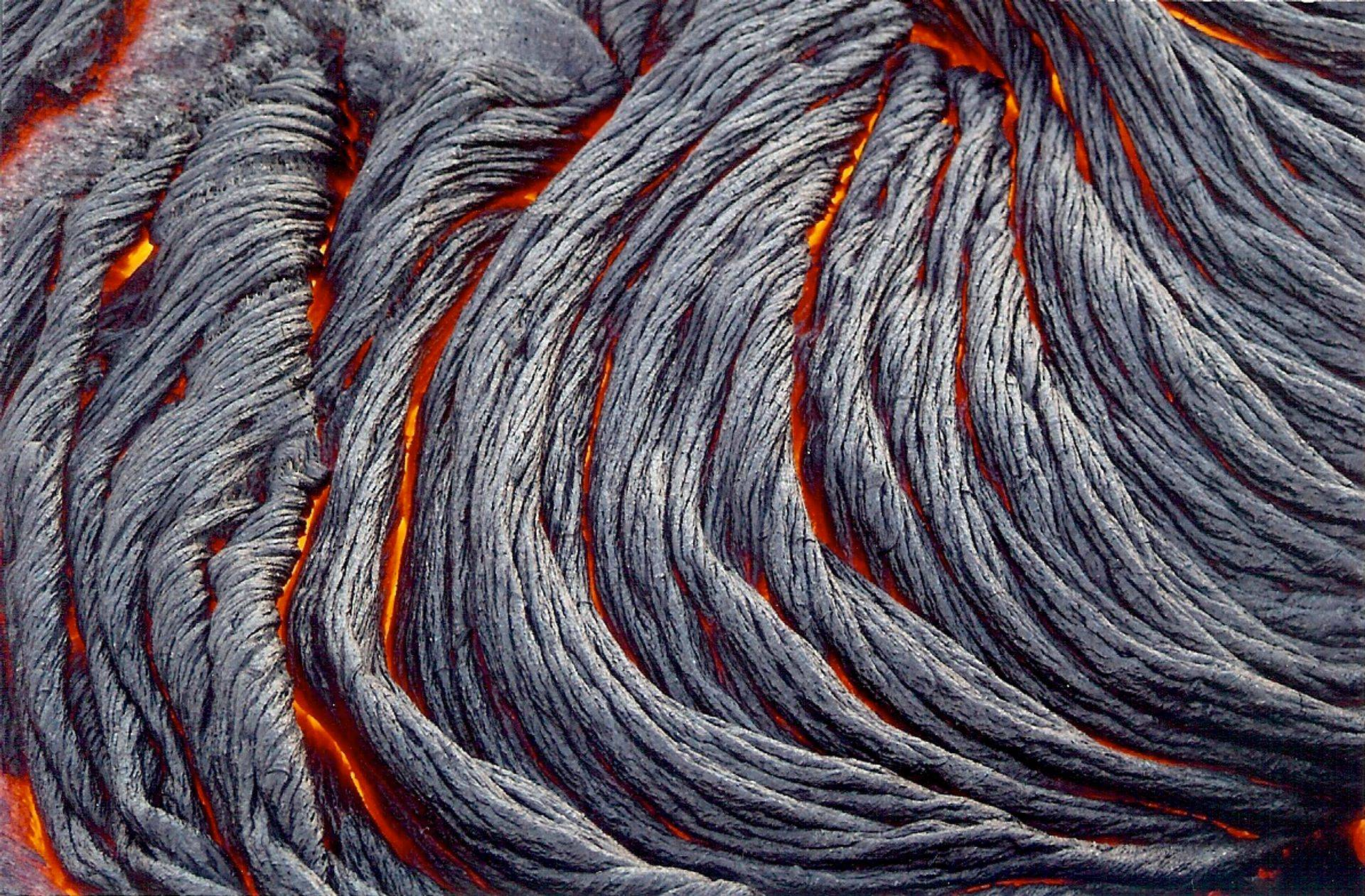 "Pa'hoi'hoi ""Rope Lava"" from Kilauea"