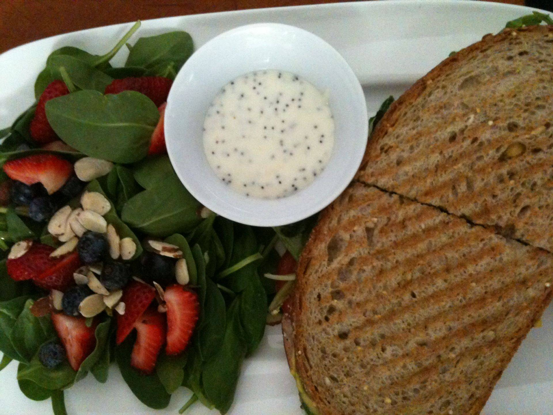 Katy & Northwoods salad