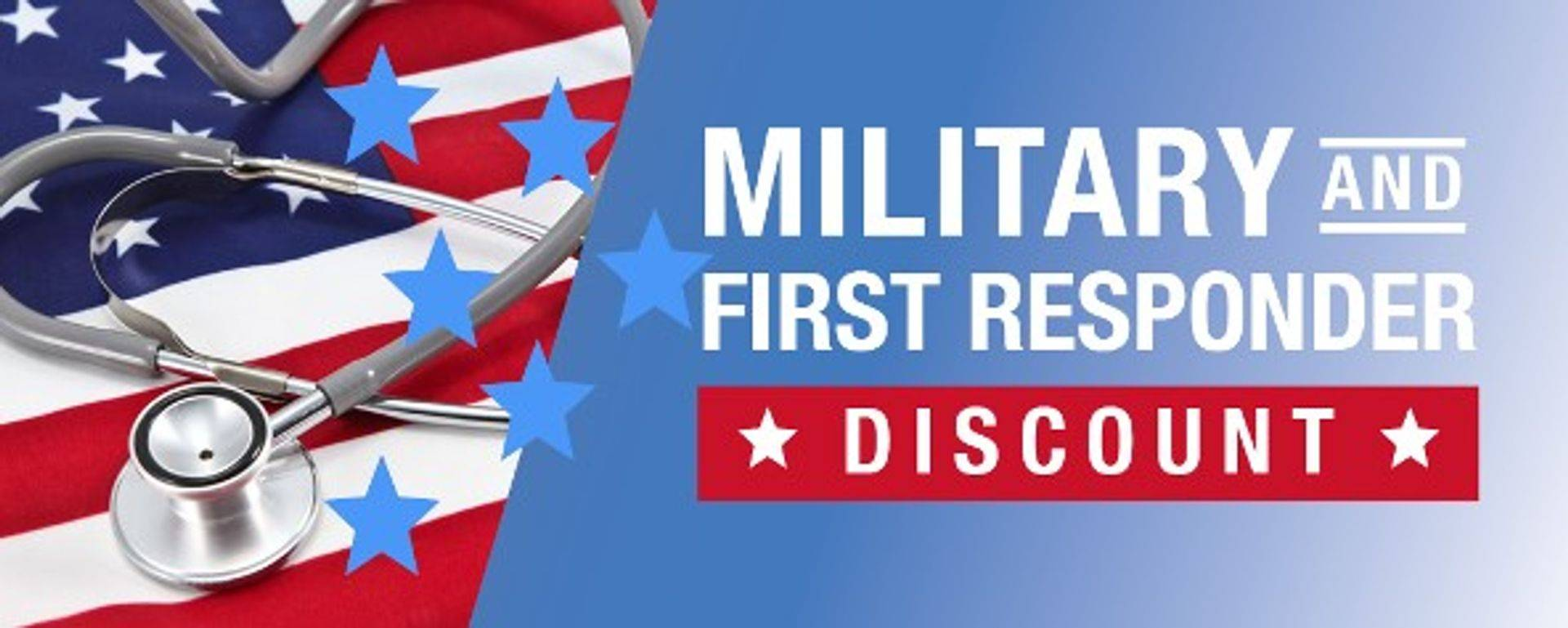 Veteran and First Responder Discounts