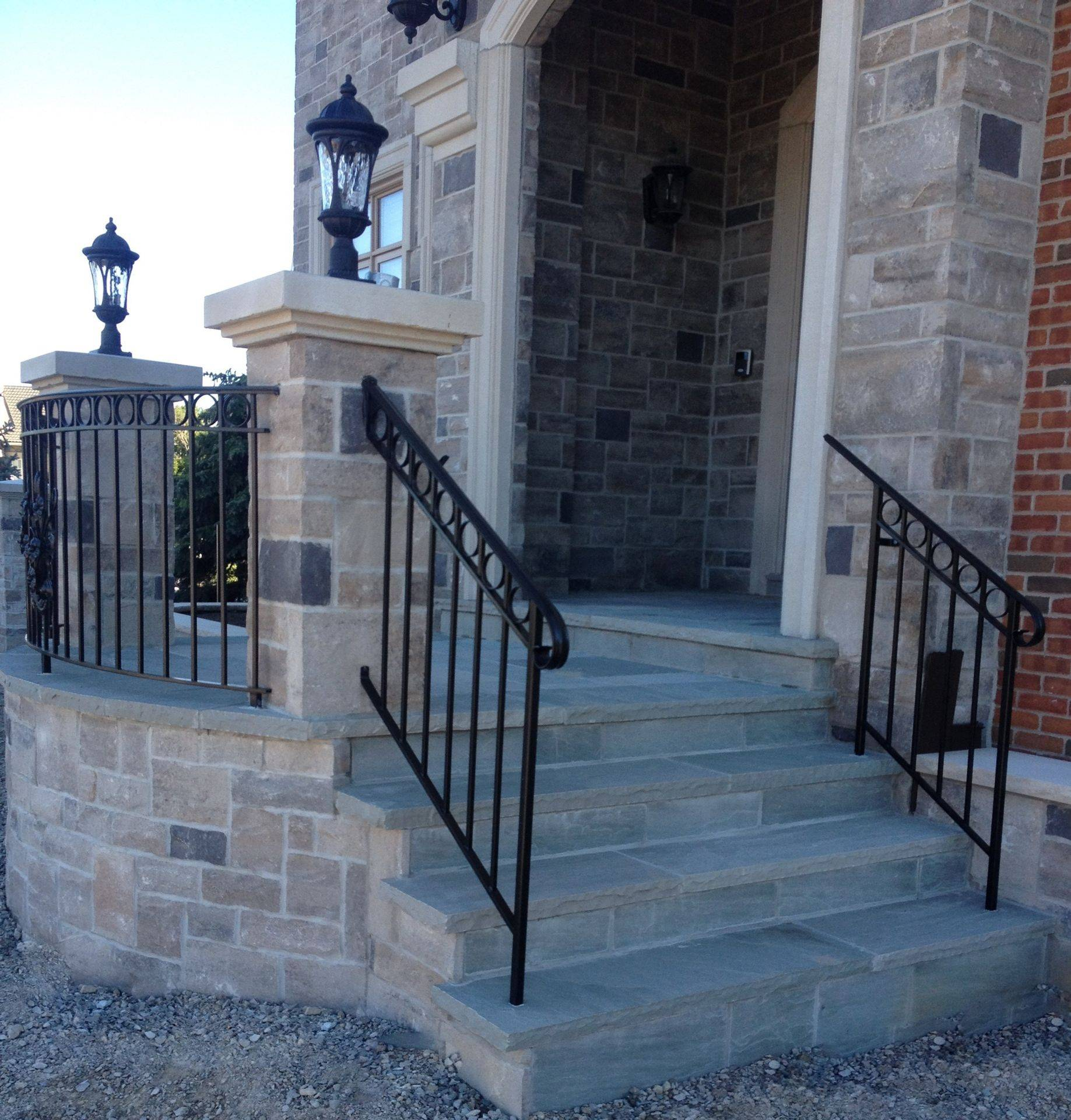 Front Porch with stairs