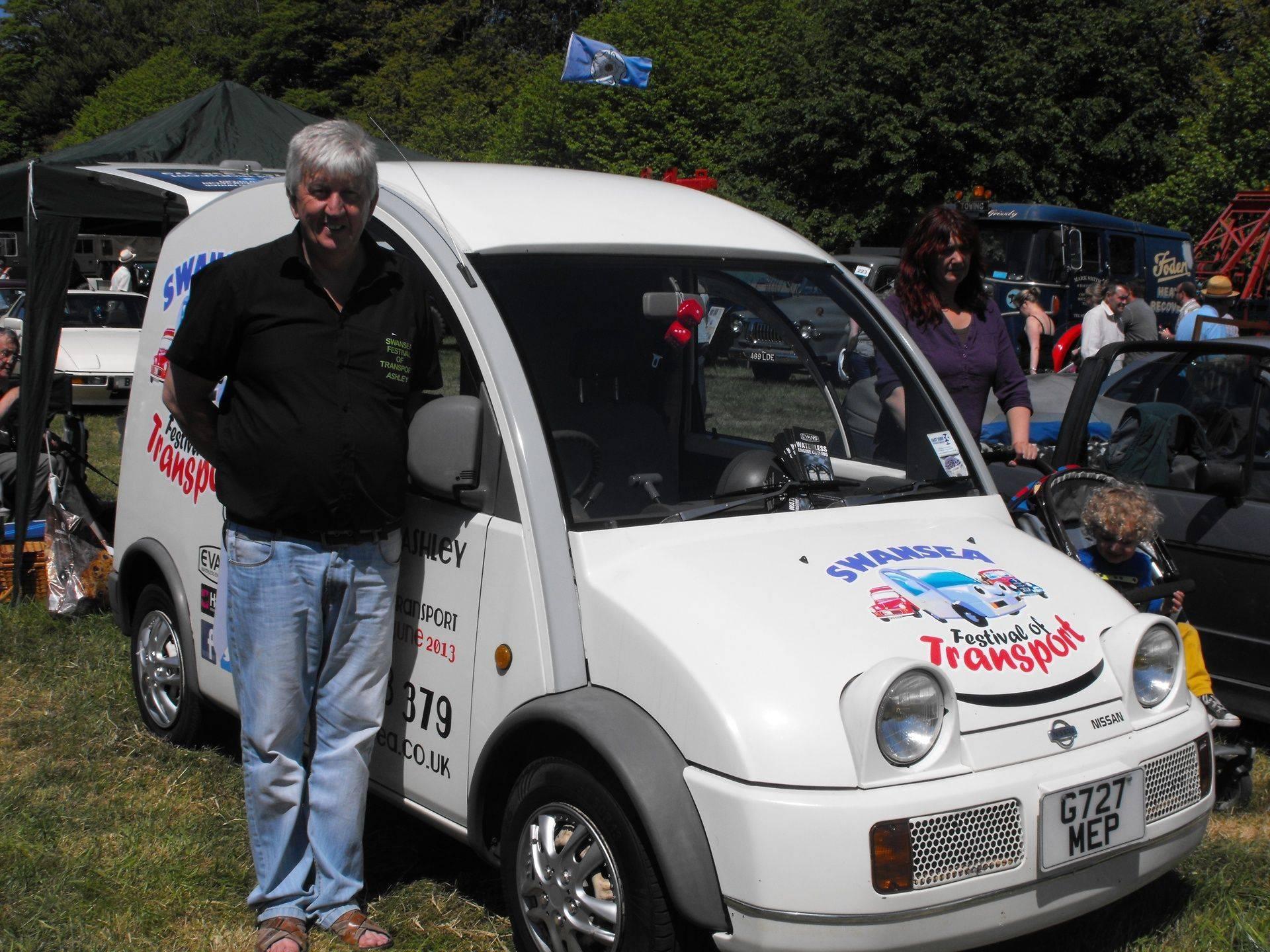 Swansea Transport Festival & Ashley Lovering
