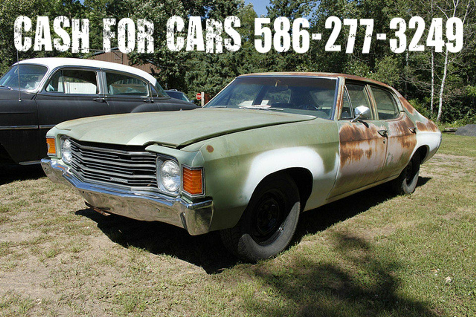 we buy scrap cars, any condition, running or not