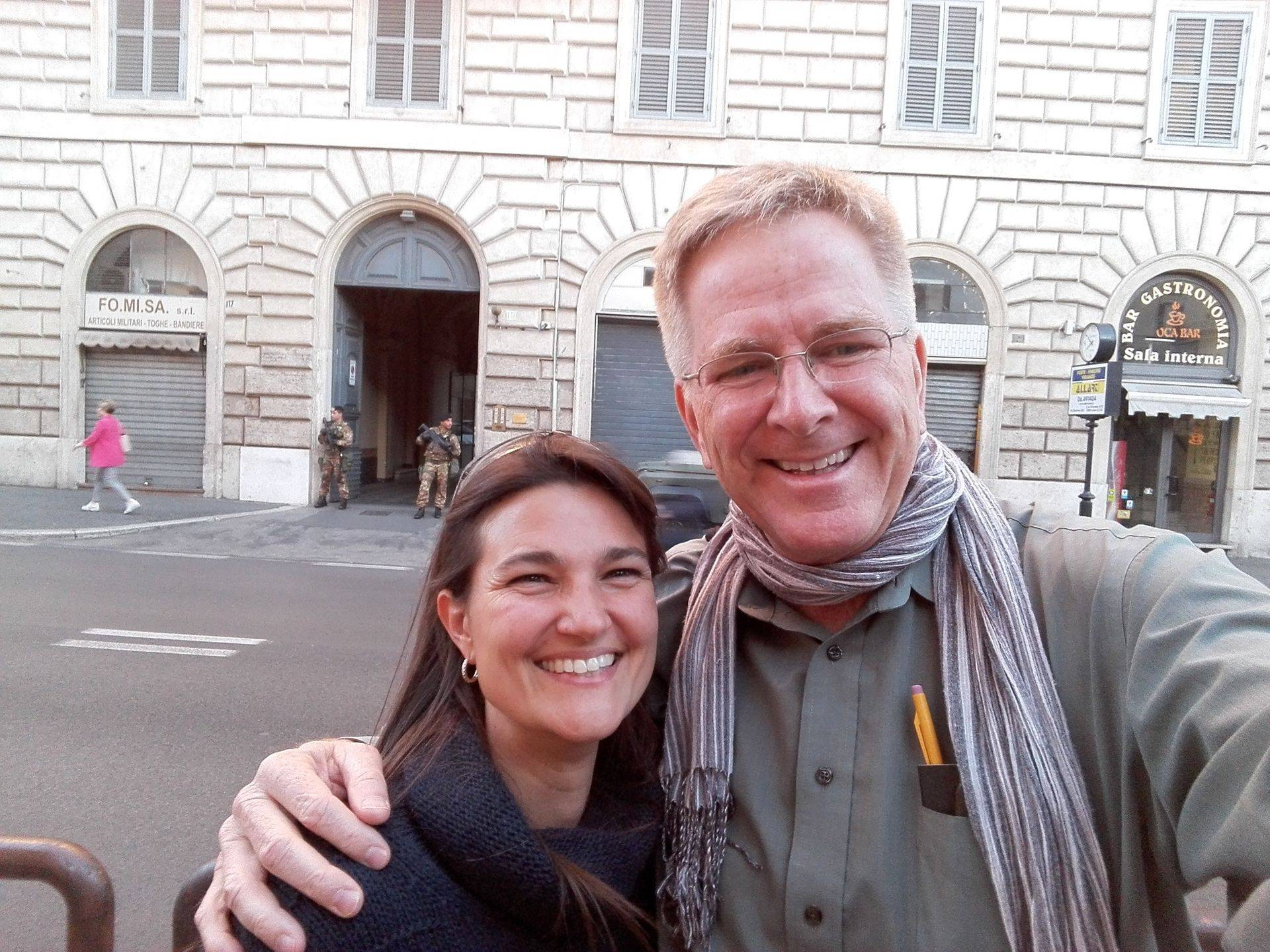 Cris Roman Guide - Cristina with Rick Steves