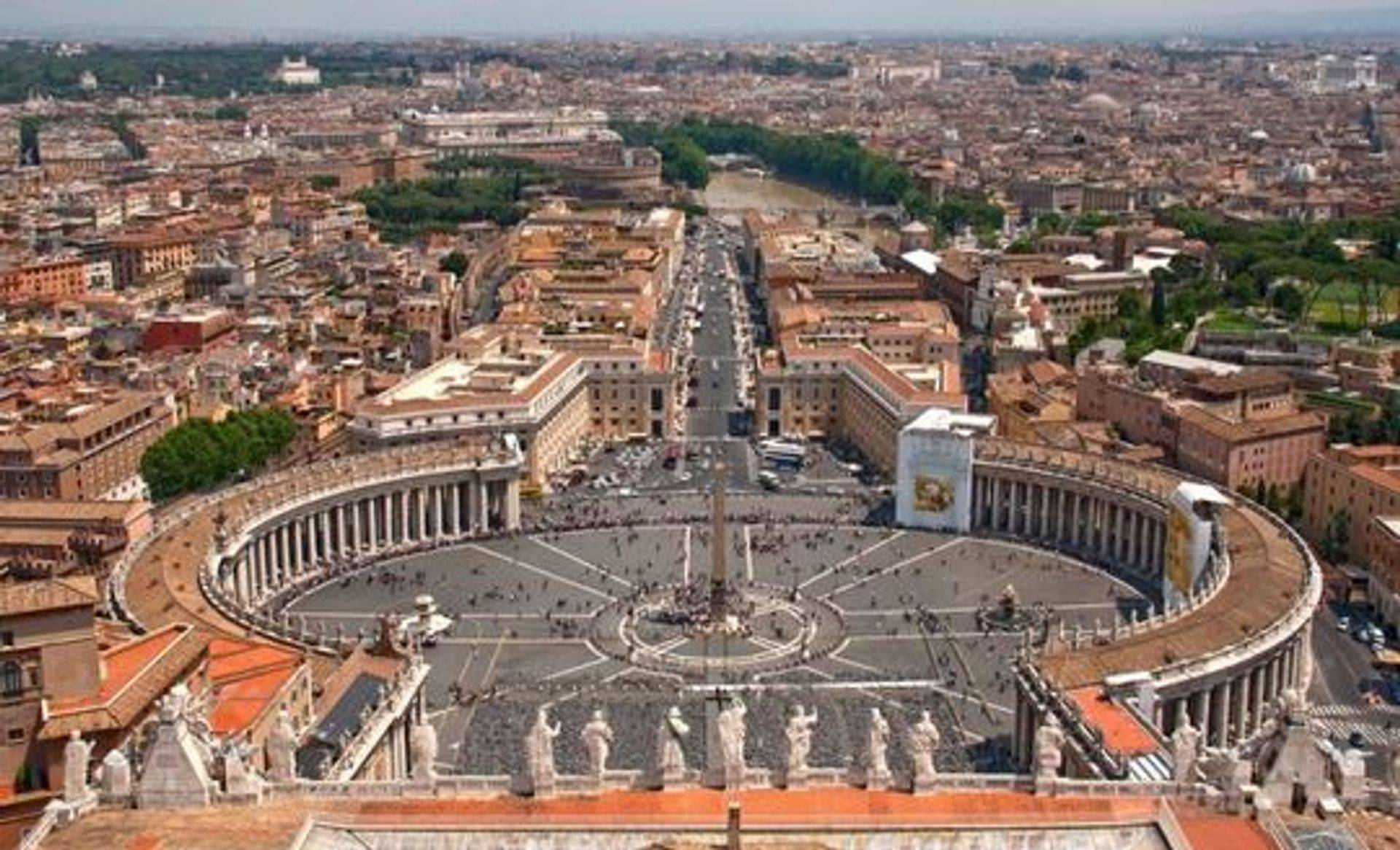 Cris Roman Guide - Cristina Giannicchi - View from the top of St. Peter Dome