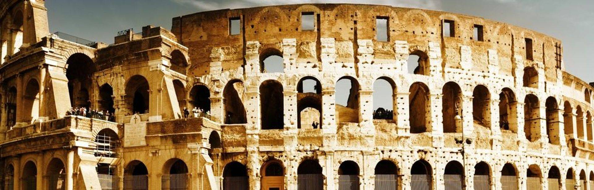 Colosseum & City Walk Tour