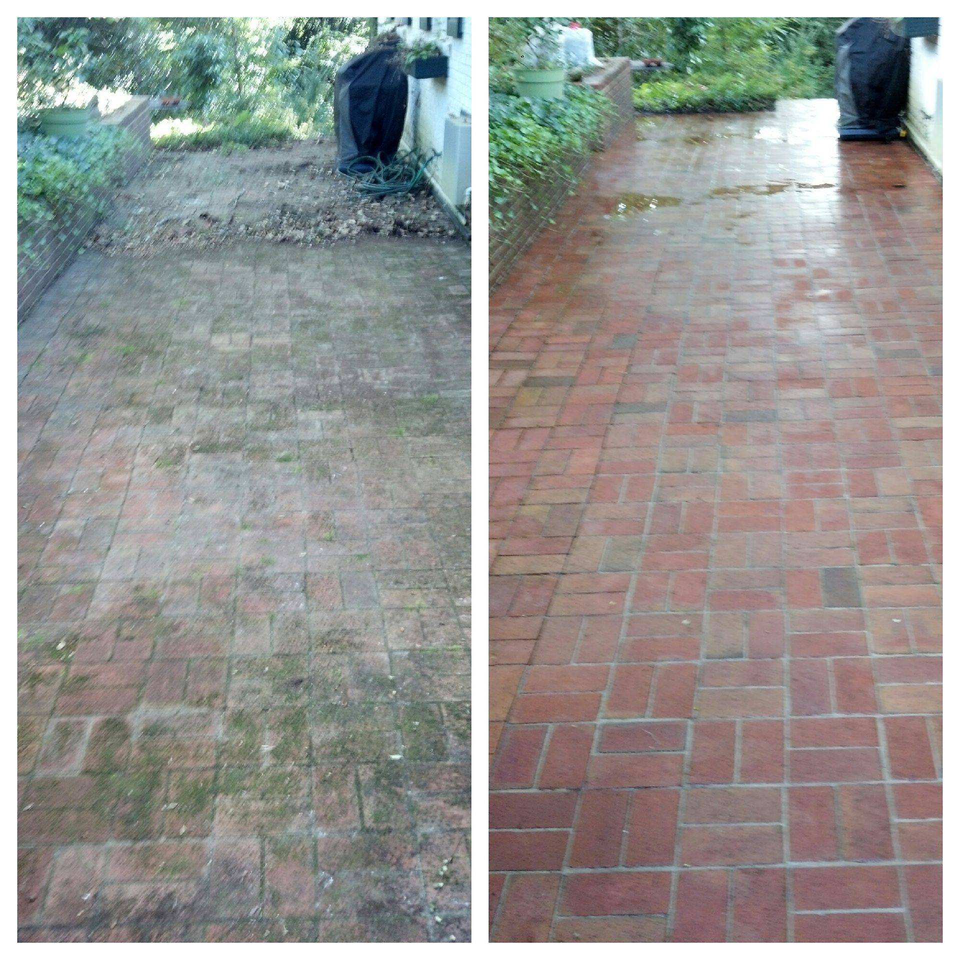 "Pressure Washing ""Before & After"""