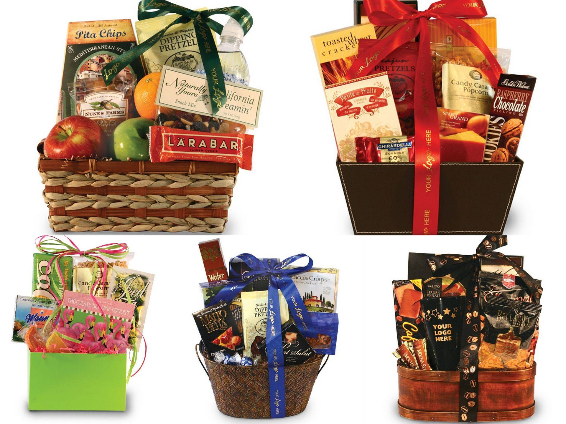 Delicious delectable gift basket