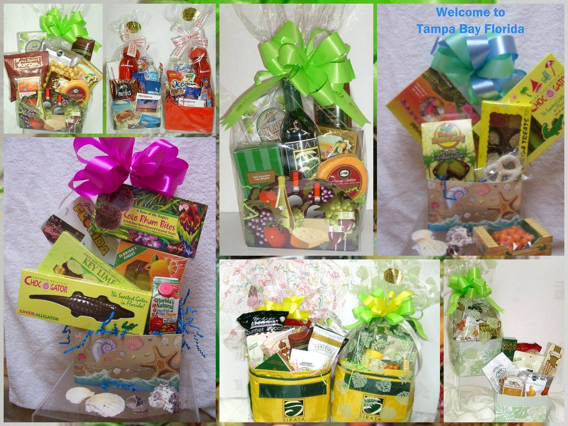 FLORIDA THEME GIFT BASKETS