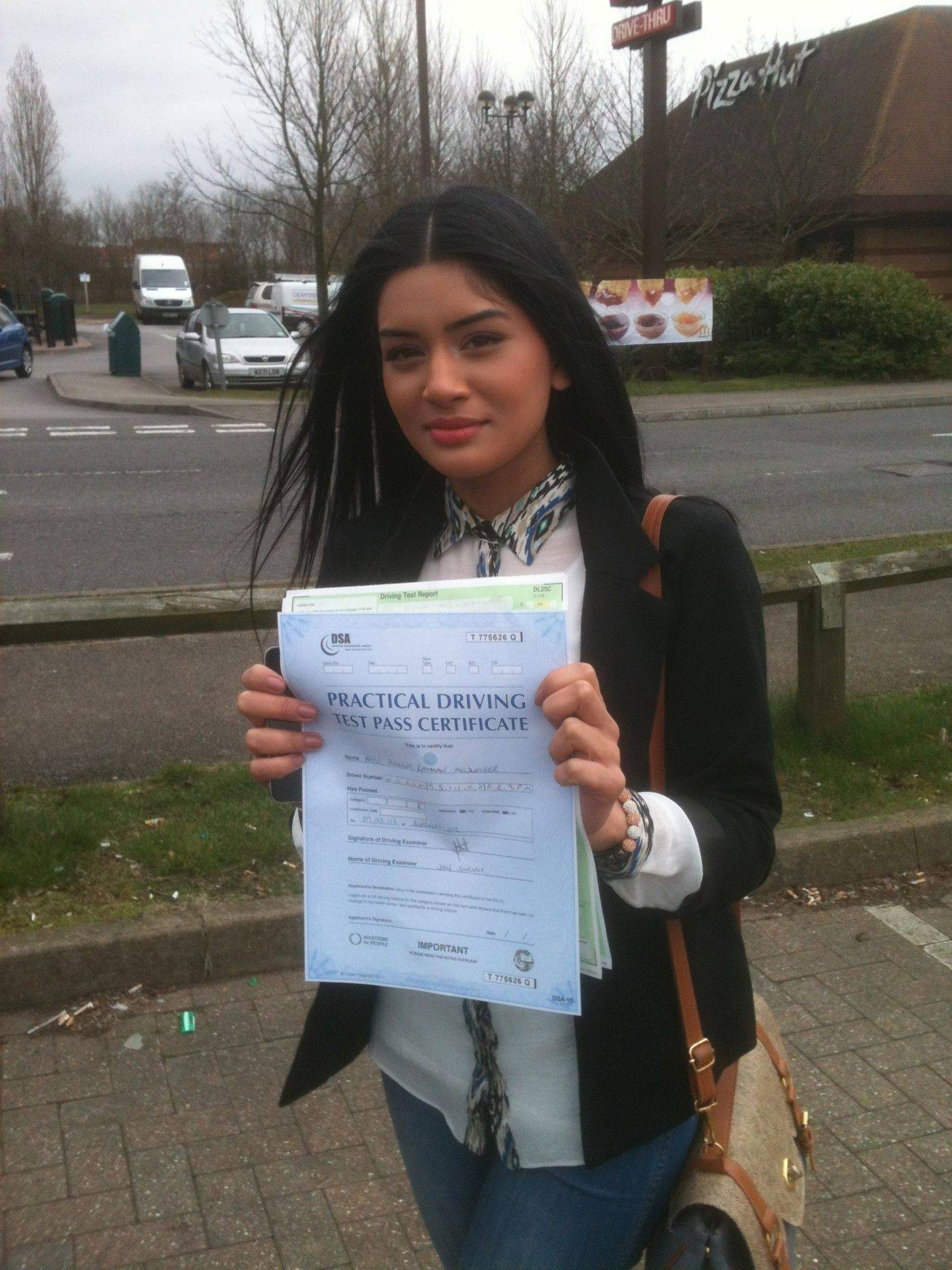 Romana passed in Milton Keynes
