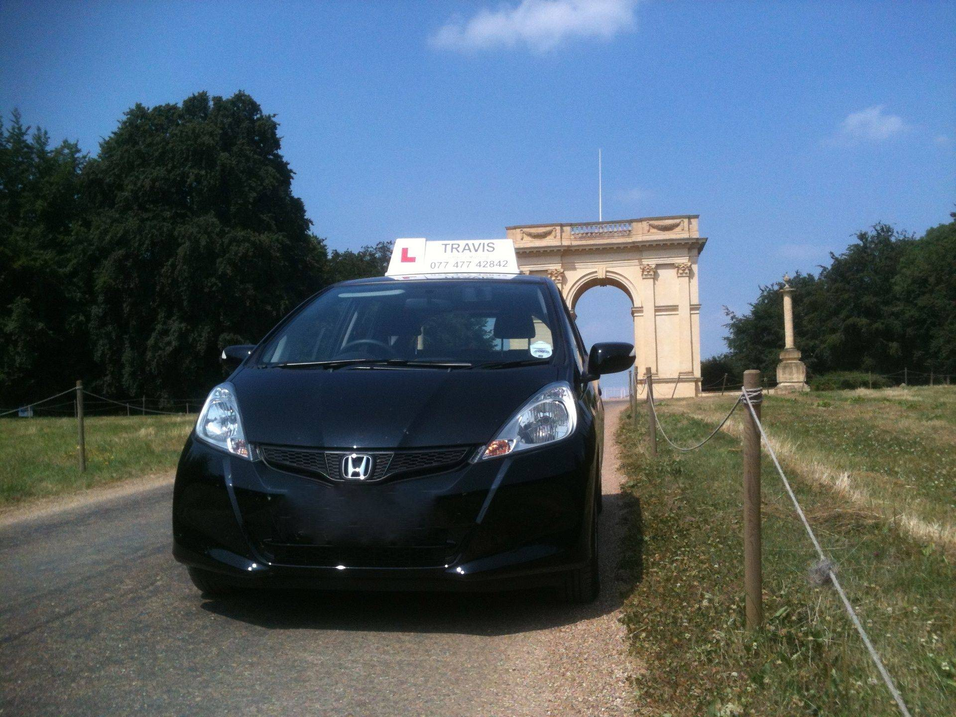 Driving school car.  Driving lessons in Buckingham.