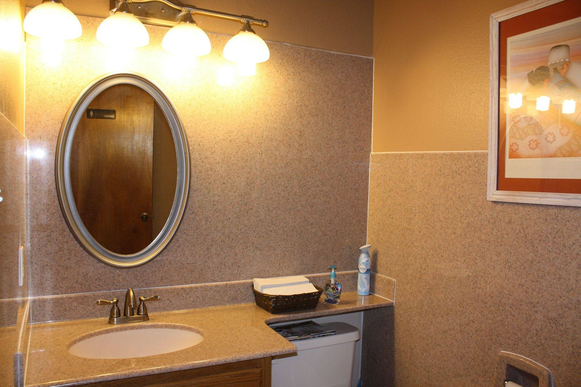 GraniteBathroom Sinks & Walls