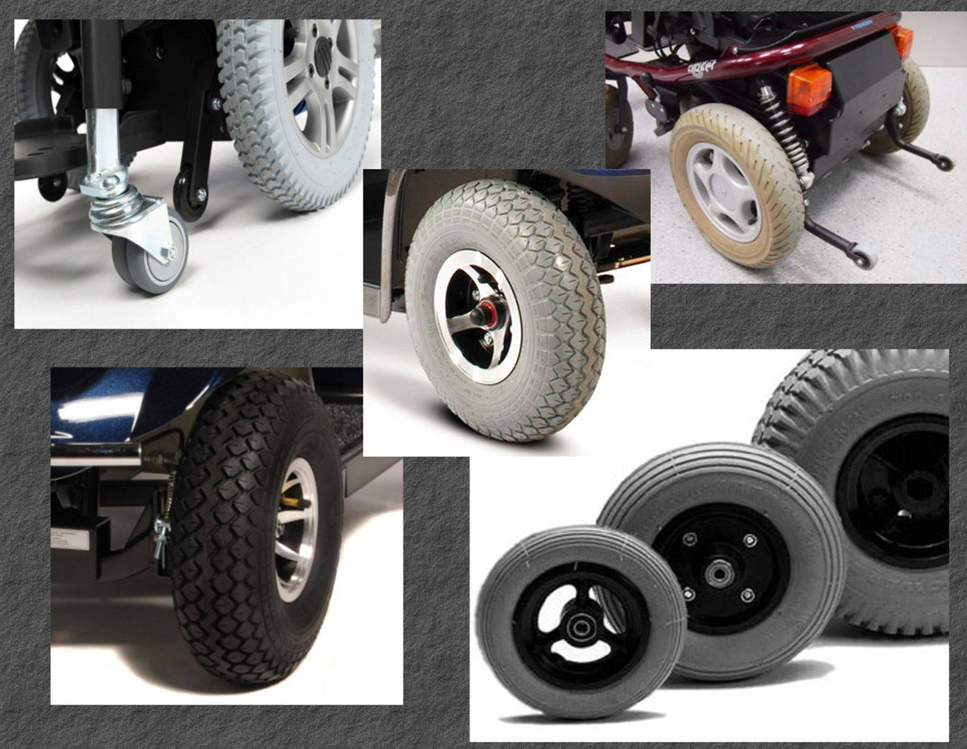 tyres and inner tubes for mobility scooters