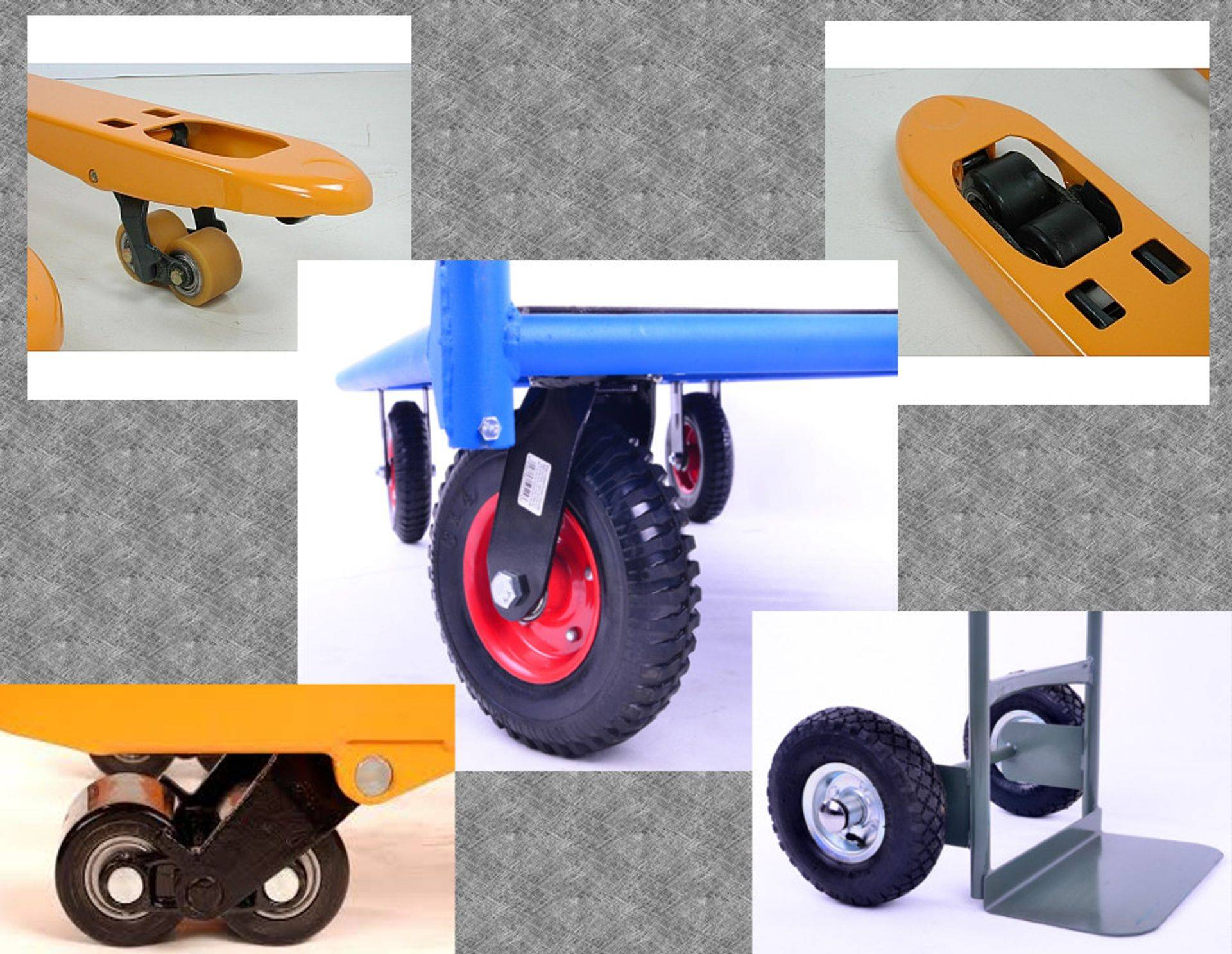 wheels and rollers for lifting equipment
