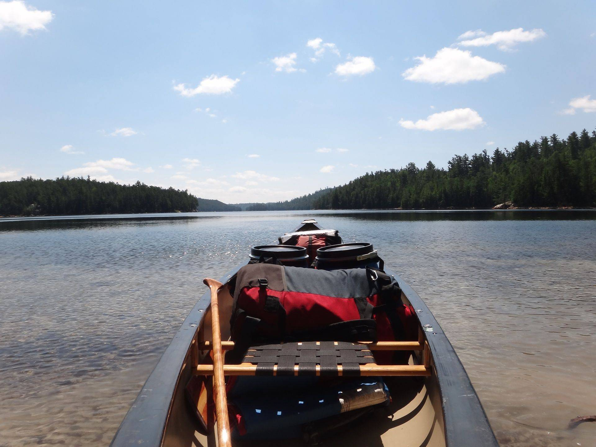 Canoe trips & camping