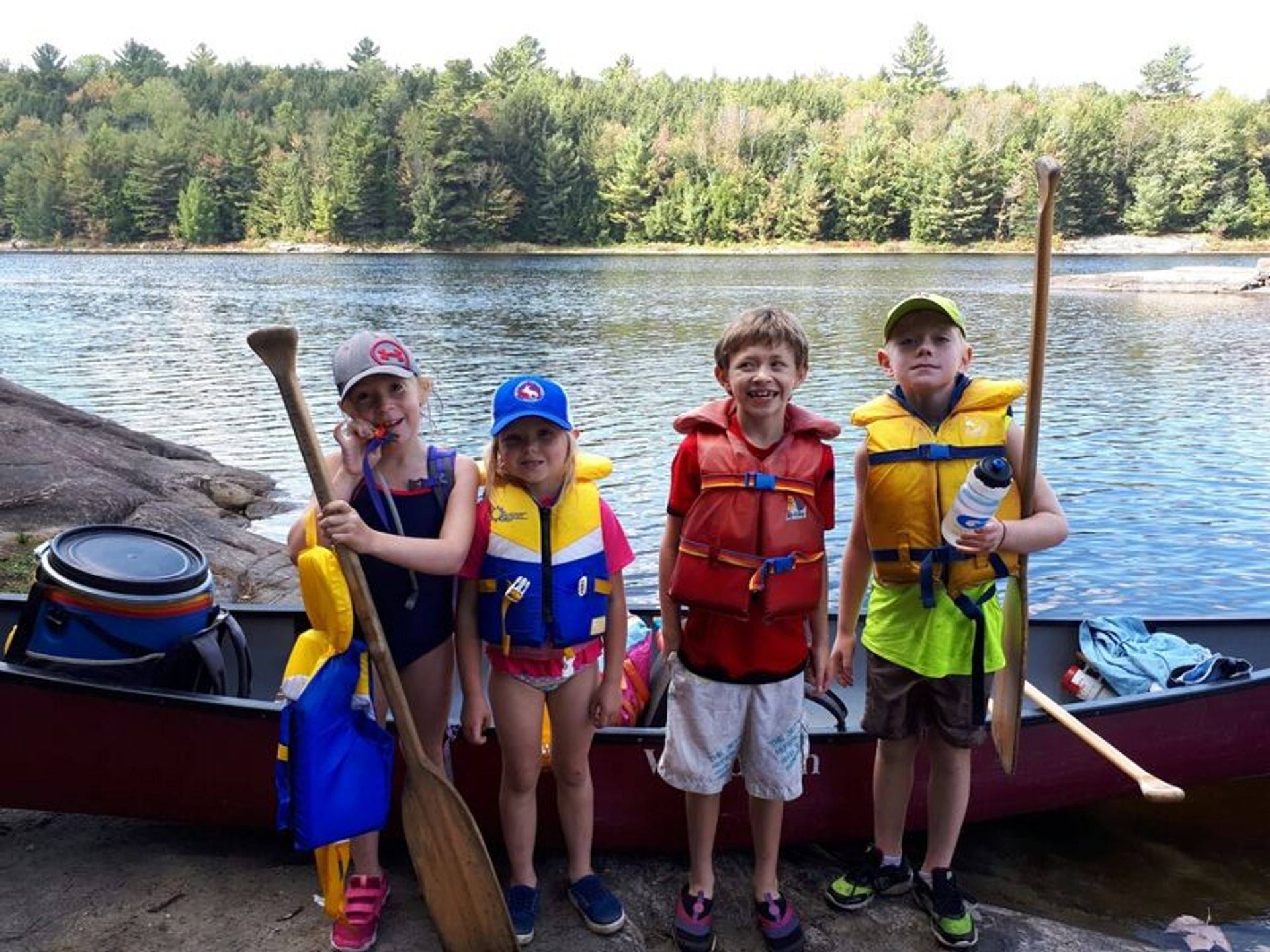Canoe trips for all ages