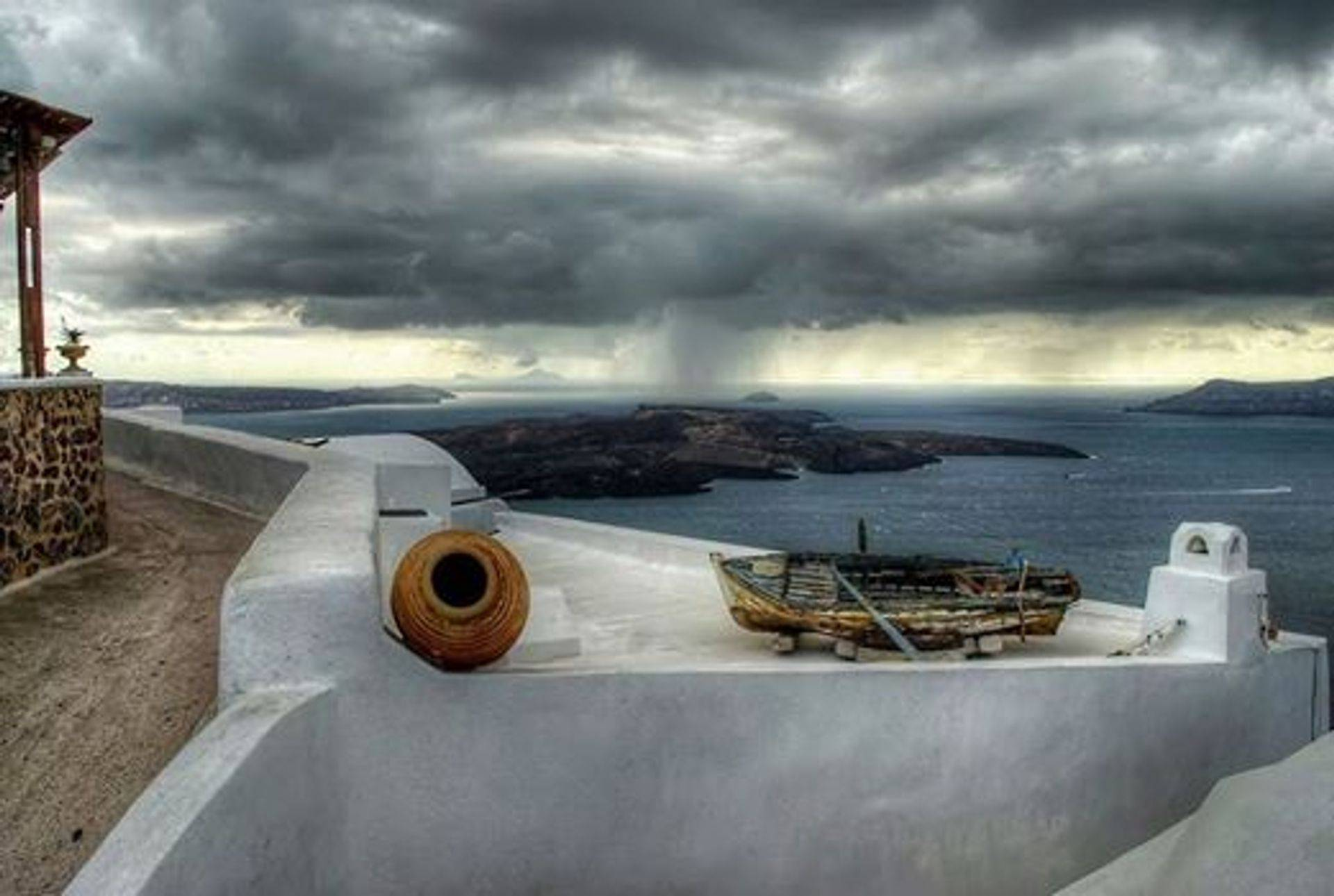 Winter Grey on the Greek islands, January 2015