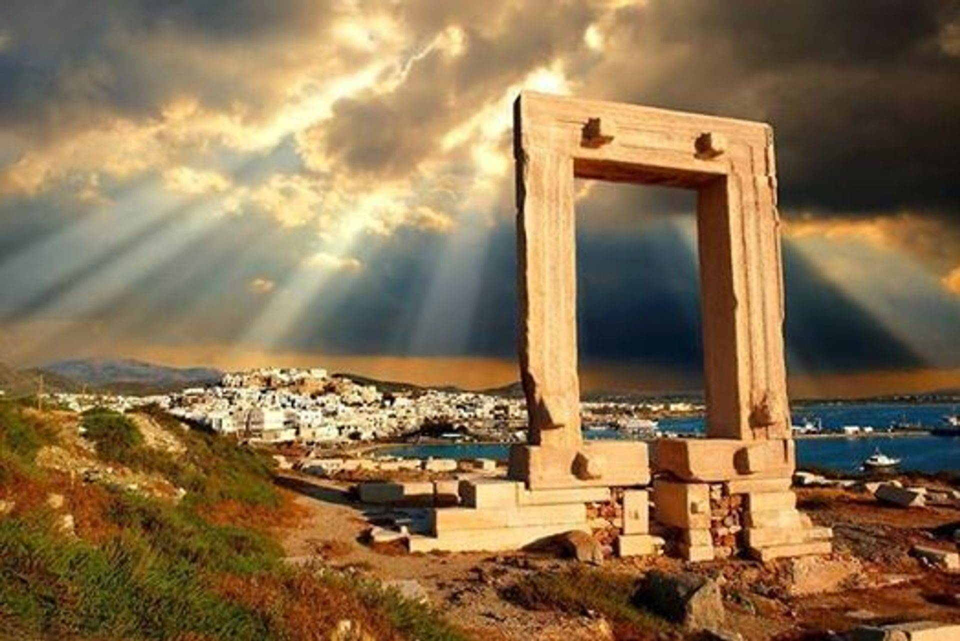 Naxos, Apollo Temple, the iris of the owrld