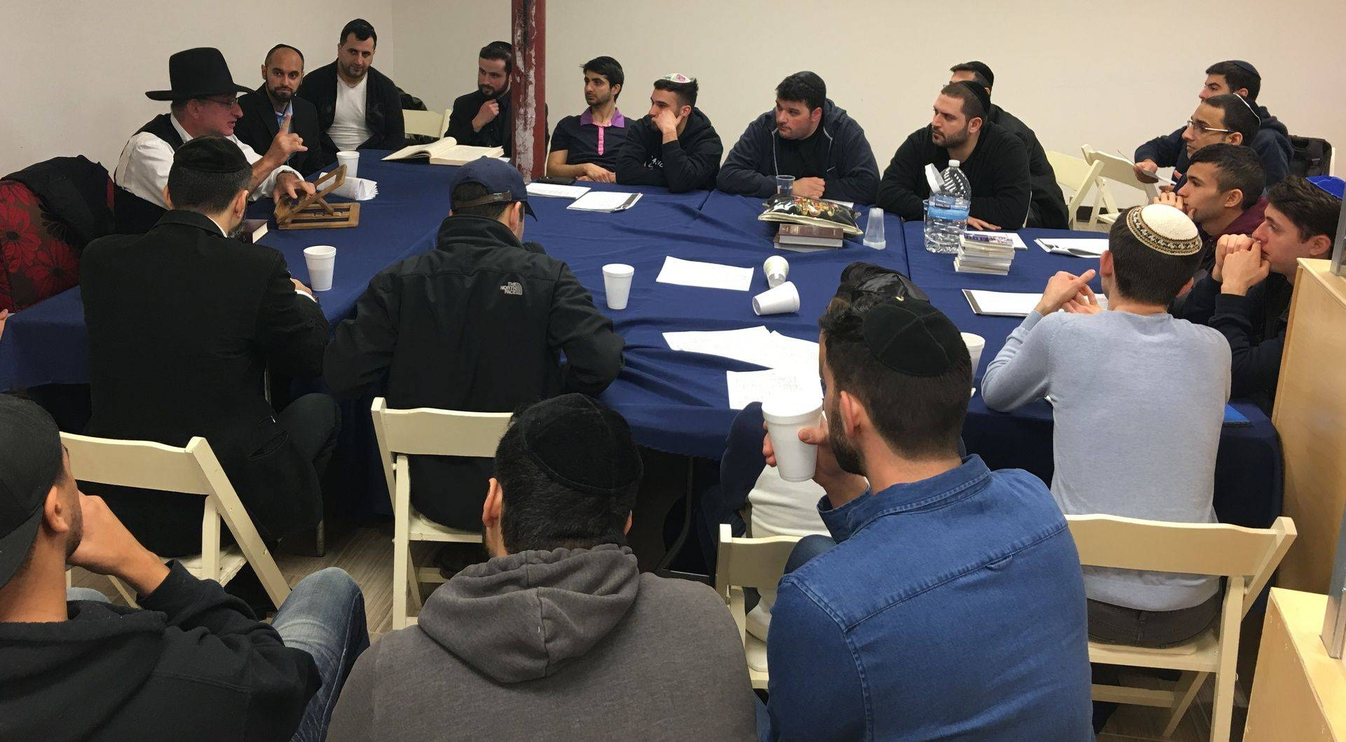 Learning at Yeshivas HaTurim