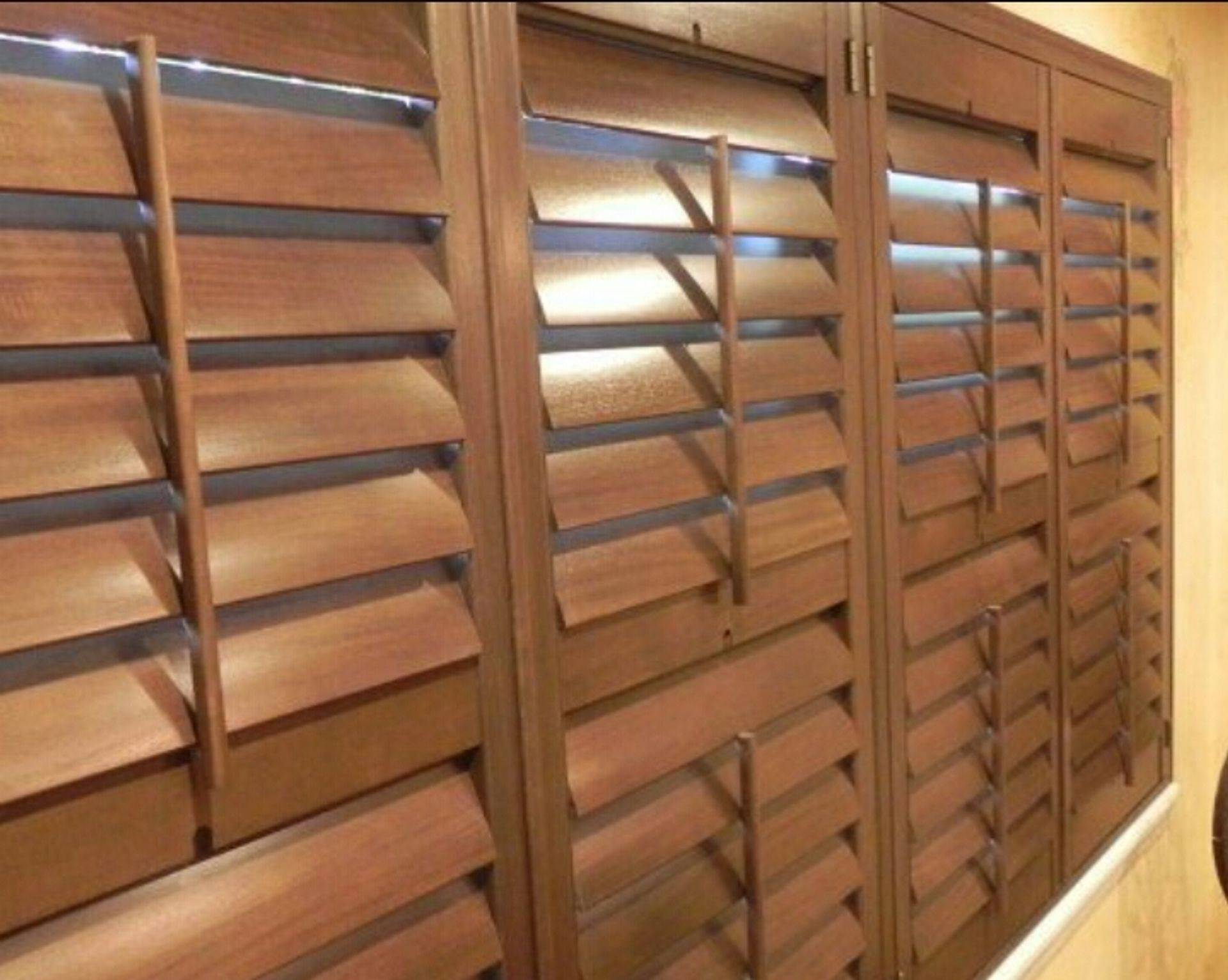 Lexwood plantation shutters