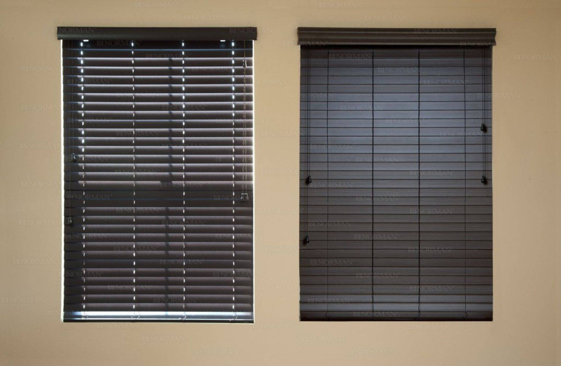 "faux wood 2"" blinds"