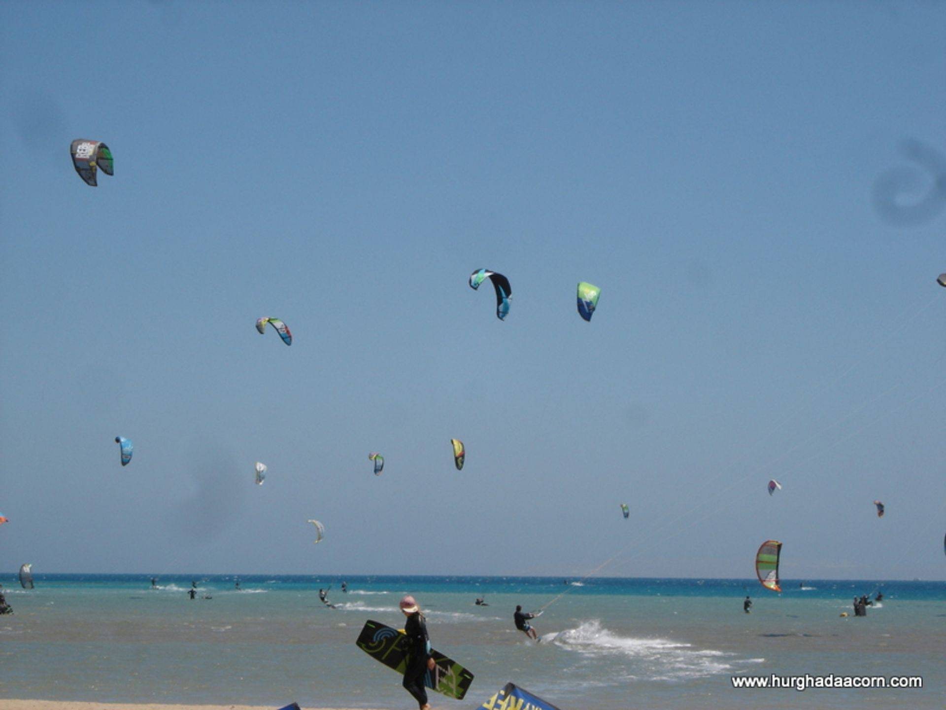 Kite Surfing in Hurghada