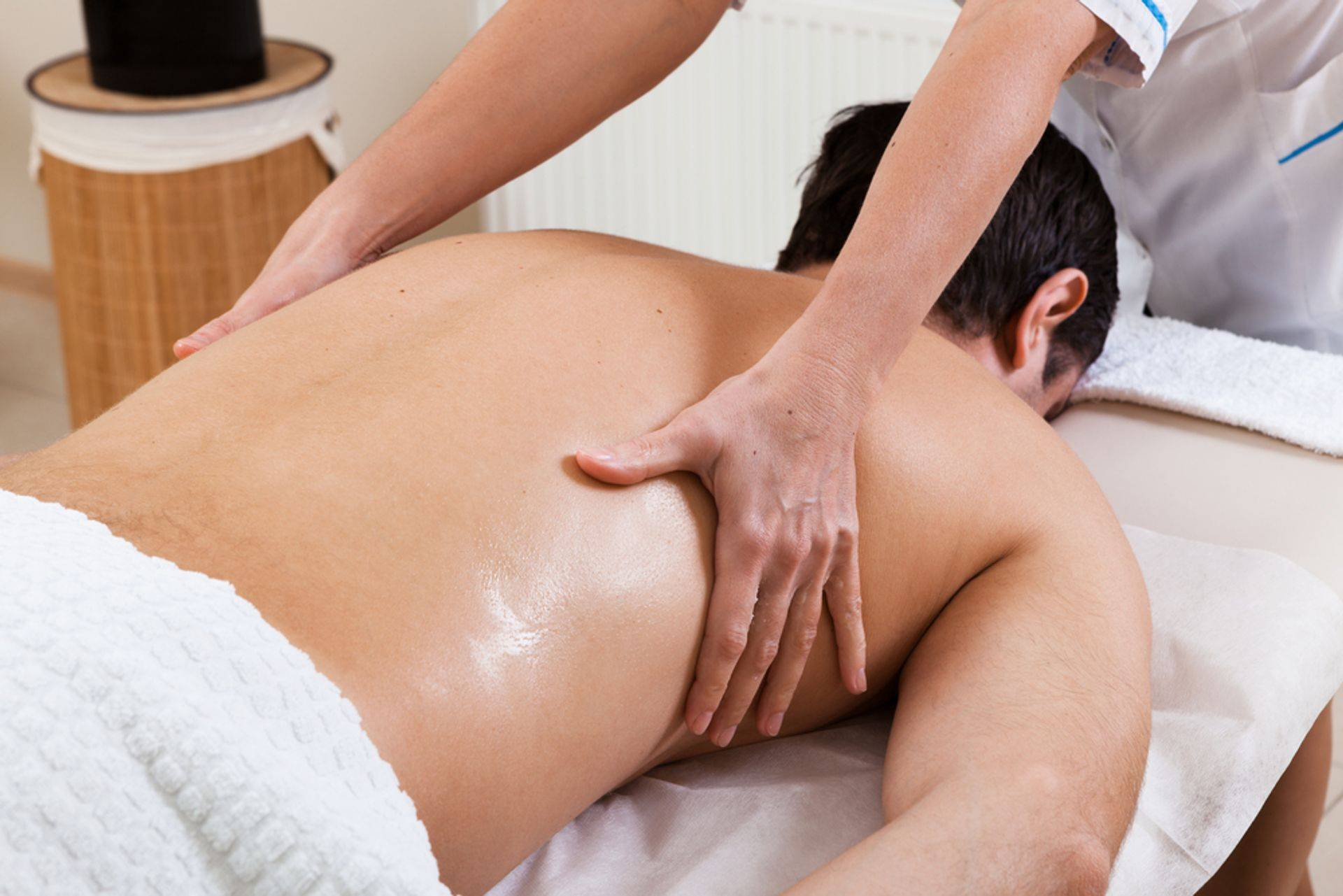 Man Receiving Advanced Massage Therapy