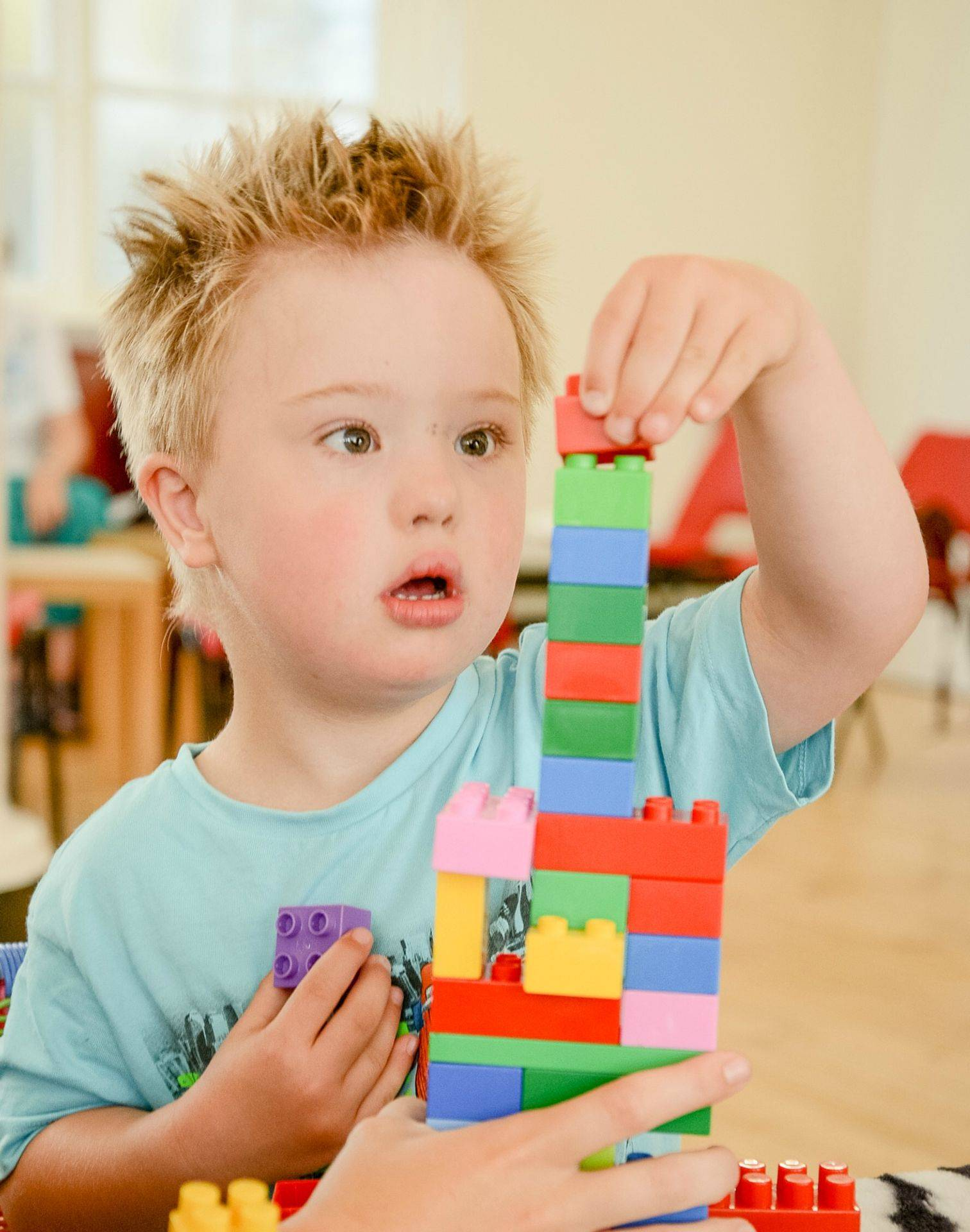 We have a special focus on children with additional needs