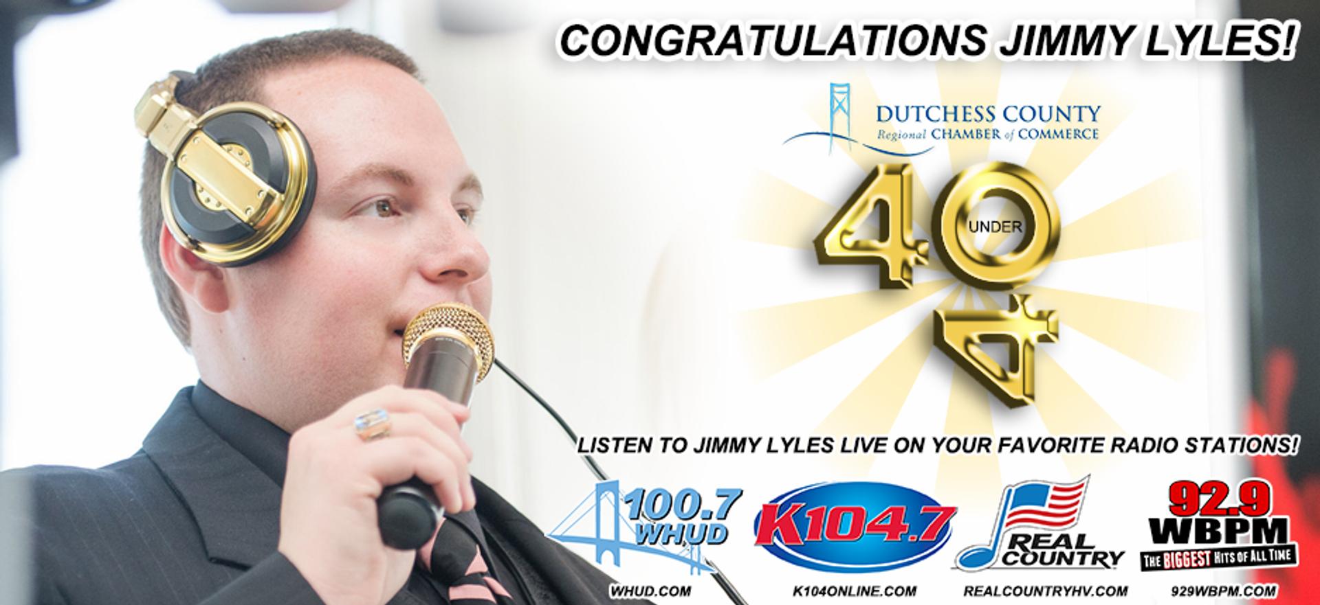 Jimmy Lyles 40 Under 40