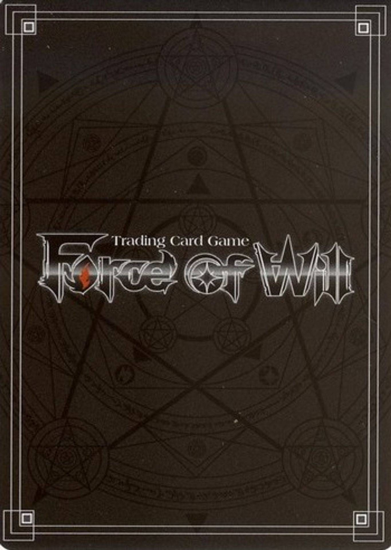 Force of Will TCG card