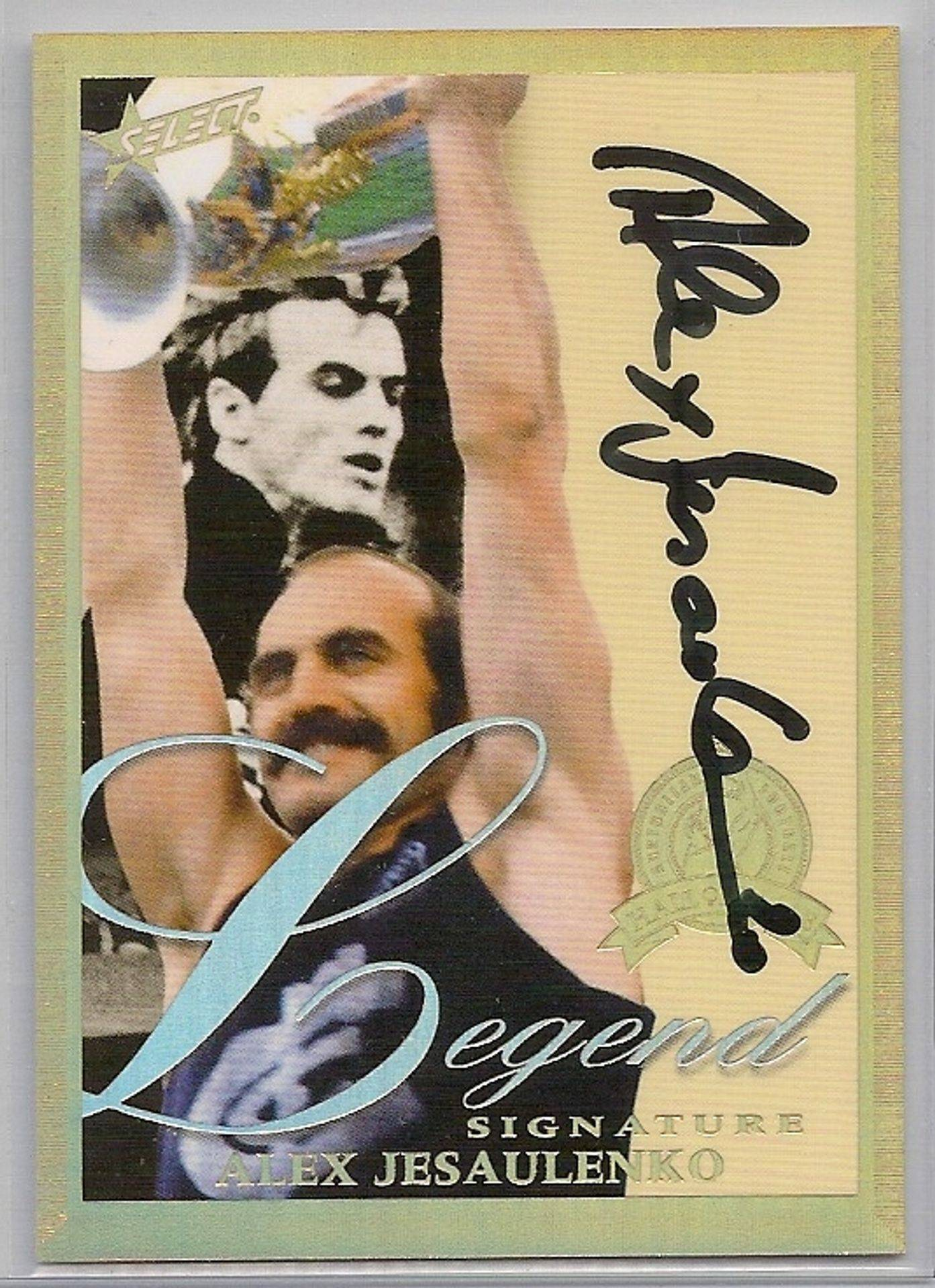 Select HOF Jezza Signature
