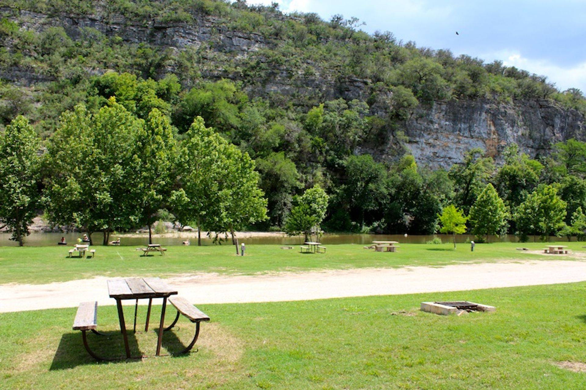Spacious Campsites on the Guadalupe River for your Group Event!