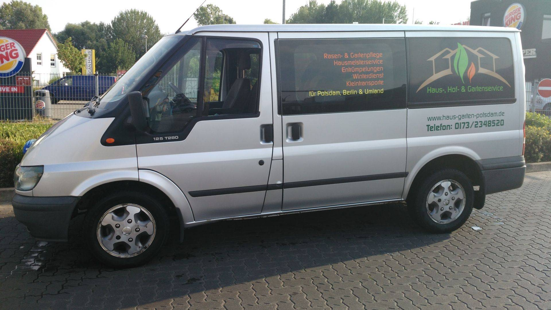 Transporter mieten mit Personal Potsdam, Berlin, Kleinmachnow, Teltow Stahnsdorf