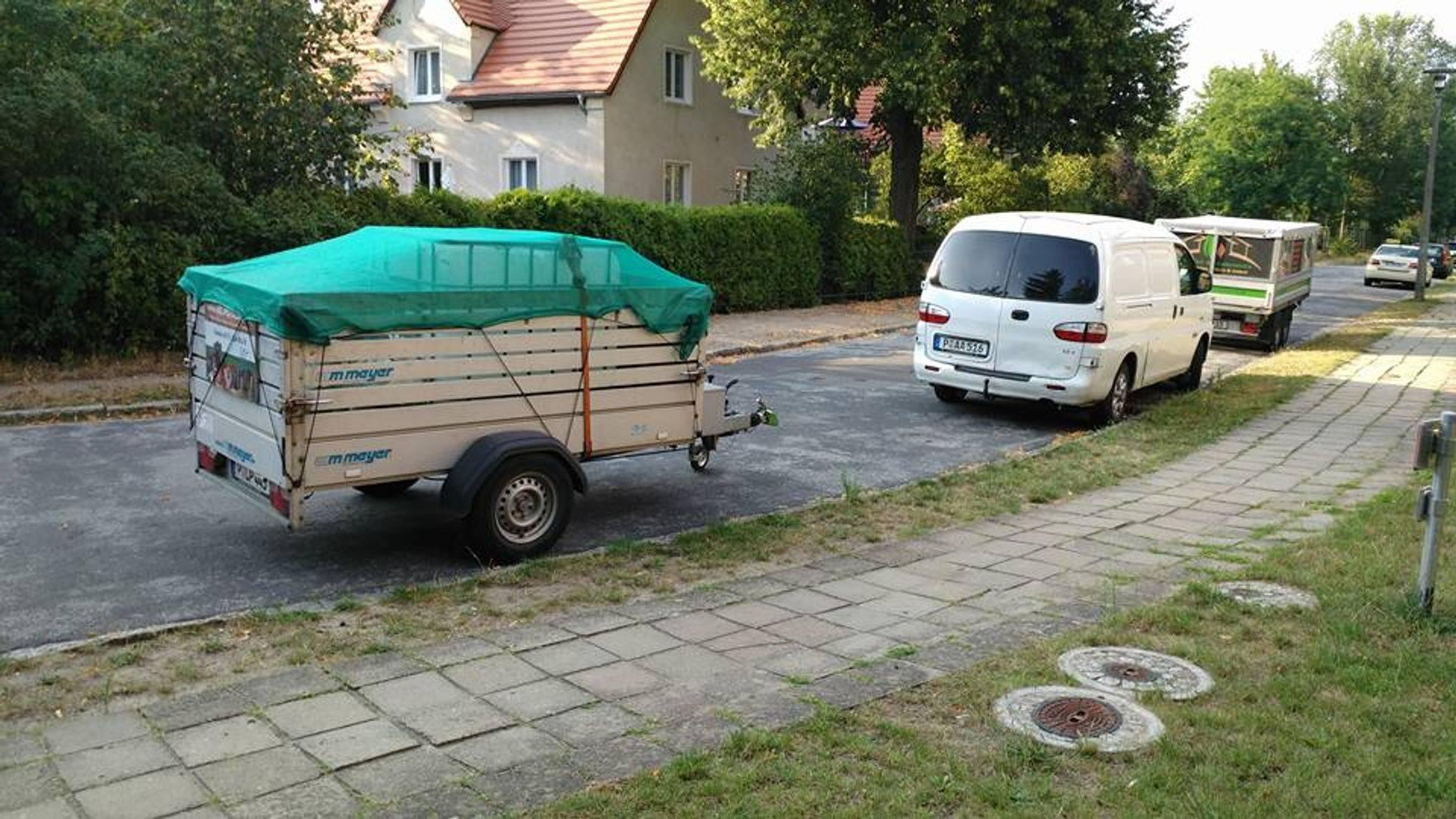 Kleintransporte mit Transporter und Anhänger Potsdam, Berlin, Kleinmachnow, Teltow Stahnsdorf