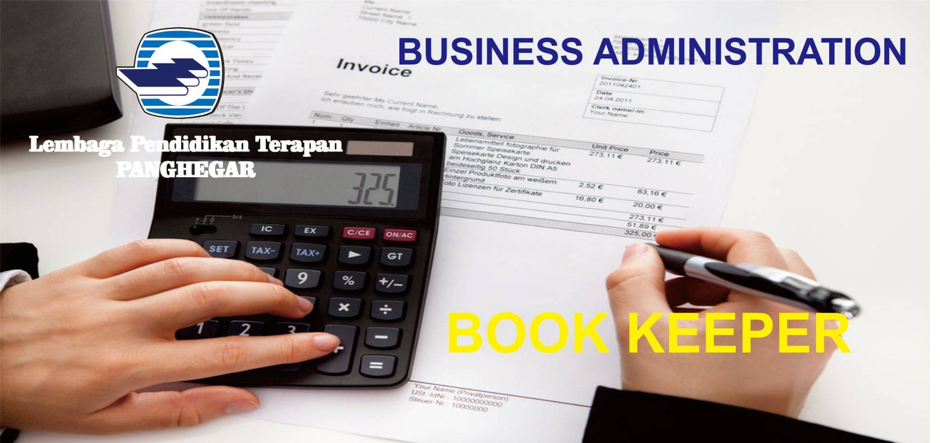 Book Keeper - Administrasi Akuntansi Keuangan