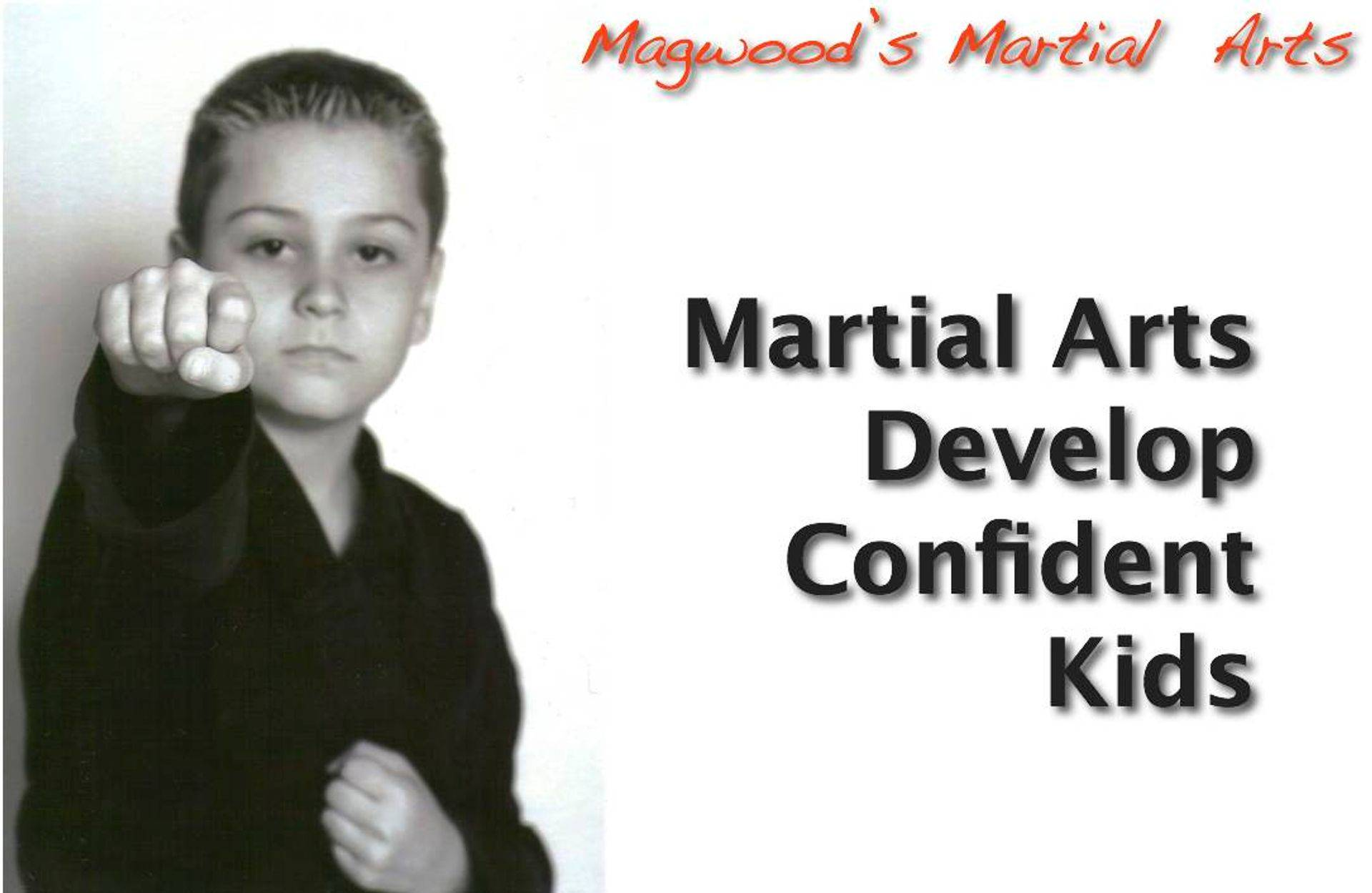 Martial Arts Create Confident Kisd