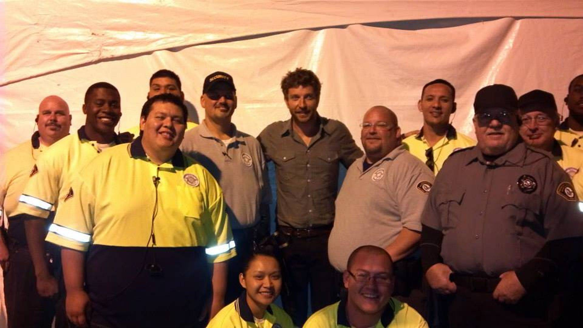 Brett Eldredge Security
